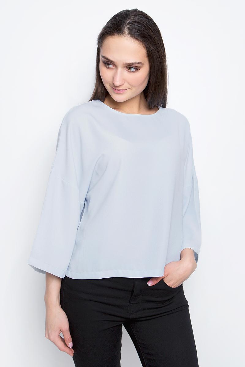 Купить Блузка женская Baon, цвет: голубой. B197030. Размер M (46)
