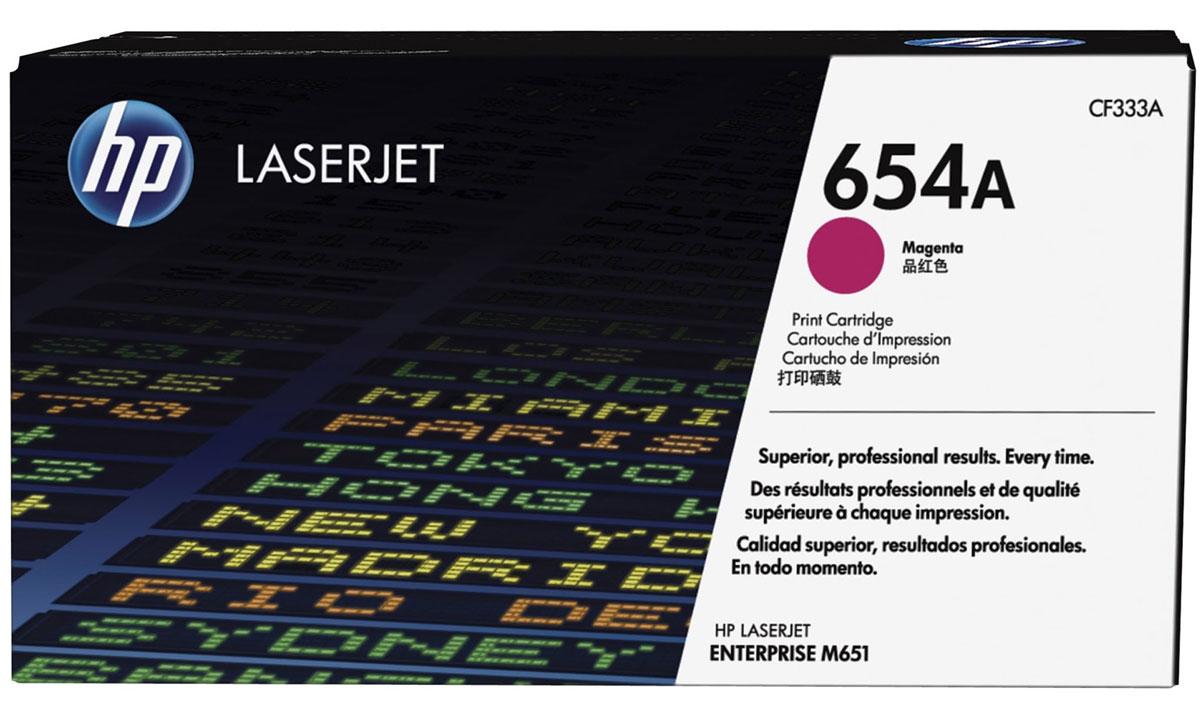 HP CF333A, Magenta тонер-картридж для LaserJet Enterprise Color MFP M680dn/M651nCF333AРасходные материалы HP 654 LaserJet позволяют создавать деловые документы с яркими цветами фотографического качества. Технология HP ColorSphere обеспечивает стабильность и качество цветопередачи. Использование оригинальных лазерных картриджей HP обеспечивает экономию времени и затрат на расходные материалы.Оригинальные лазерные картриджи HP с технологией HP ColorSphere позволяют создавать деловые документы и маркетинговые материалы профессионального уровня. Стабильная печать полиграфического качества с использованием широкого диапазона различных типов бумаги, предназначенных для печати деловых документов.Надежные расходные материалы позволяют поддерживать хорошую производительность. Лазерные картриджи HP LaserJet гарантируют стабильную безотказную печать. Благодаря своей исключительной надежности эти картриджи обеспечивают бесперебойную работу и позволяют снизить затраты на расходные материалы.Интеллектуальная система, встроенная в оригинальные лазерные картриджи HP, отслеживает расход картриджа и облегчает размещение заказа. Автоматическое удаление пломбы упрощает установку.Использование оригинальных лазерных картриджей HP способствует экономии энергии и ресурсов. Программа HP Planet Partners предоставляет удобные возможности возврата картриджей для их переработки.