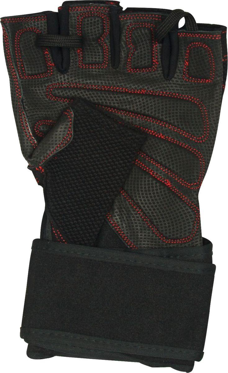 Перчатки для фитнеса Starfit SU-123, цвет: черный. Размер XL starfit
