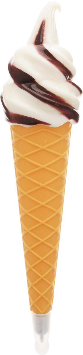 Эврика Ручка шариковая Мороженое цвет коричневый белый93648_коричневыйОригинальная ручка с магнитом Эврика Мороженое, выполненная из полимерного материала в виде рожка мороженого, несомненно, удивит вас своим дизайном. Она станет необычным украшением рабочего стола и никогда не затеряется среди бумаг. А благодаря магниту ручку можно прикрепить к любой металлической поверхности.