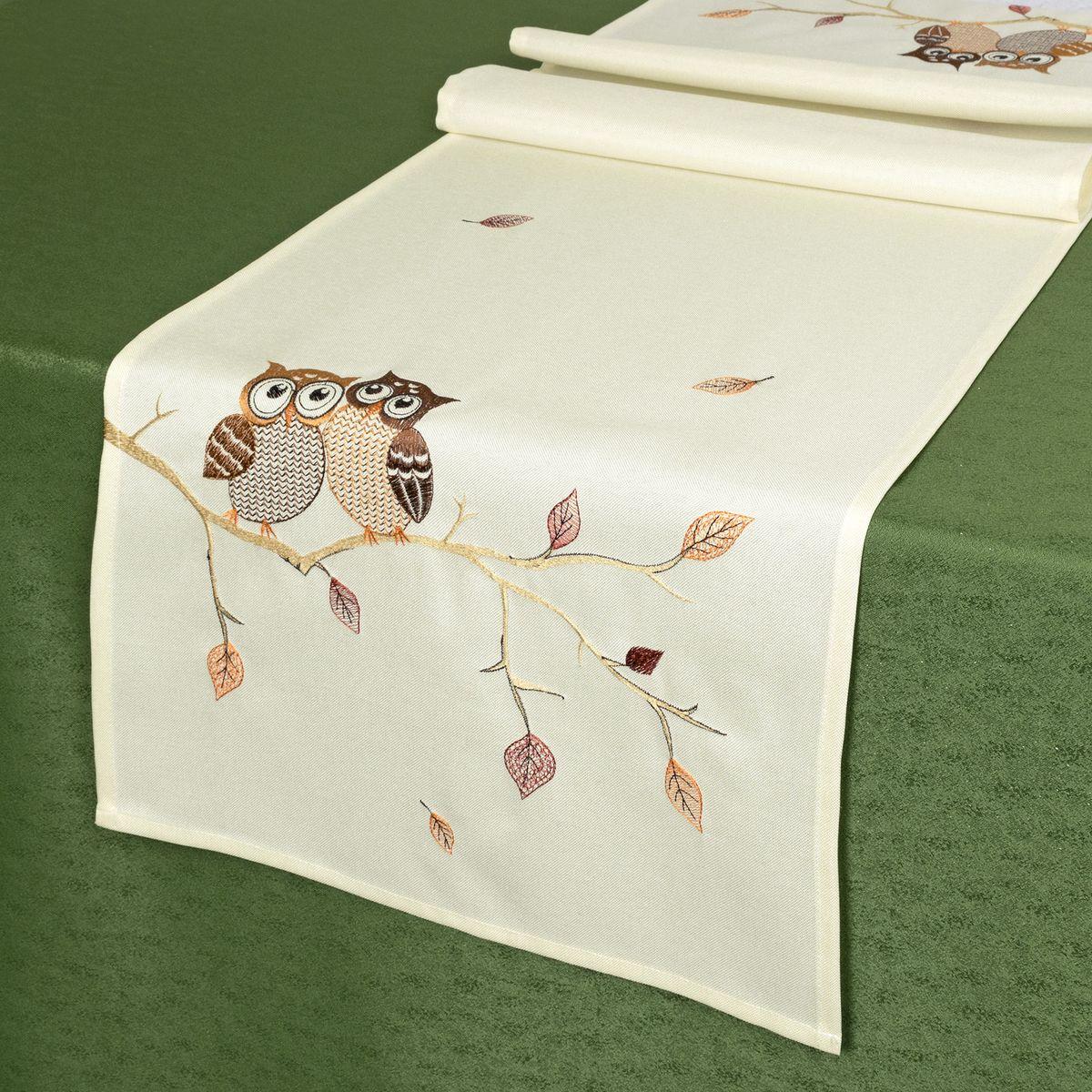 Дорожка для декорирования стола Schaefer, 40 х 140 см. 07789-21107789-211Дорожка для декорирования стола Schaefer может быть использована, как основной элемент, так и дополнение для создания уюта и романтического настроения.Дорожка выполнена из полиэстера. Изделие легко стирать: оно не мнется, не садится и быстро сохнет, более долговечно, чем изделие из натуральных волокон.Материал: 100% полиэстер.Размер: 40 х 140 см.