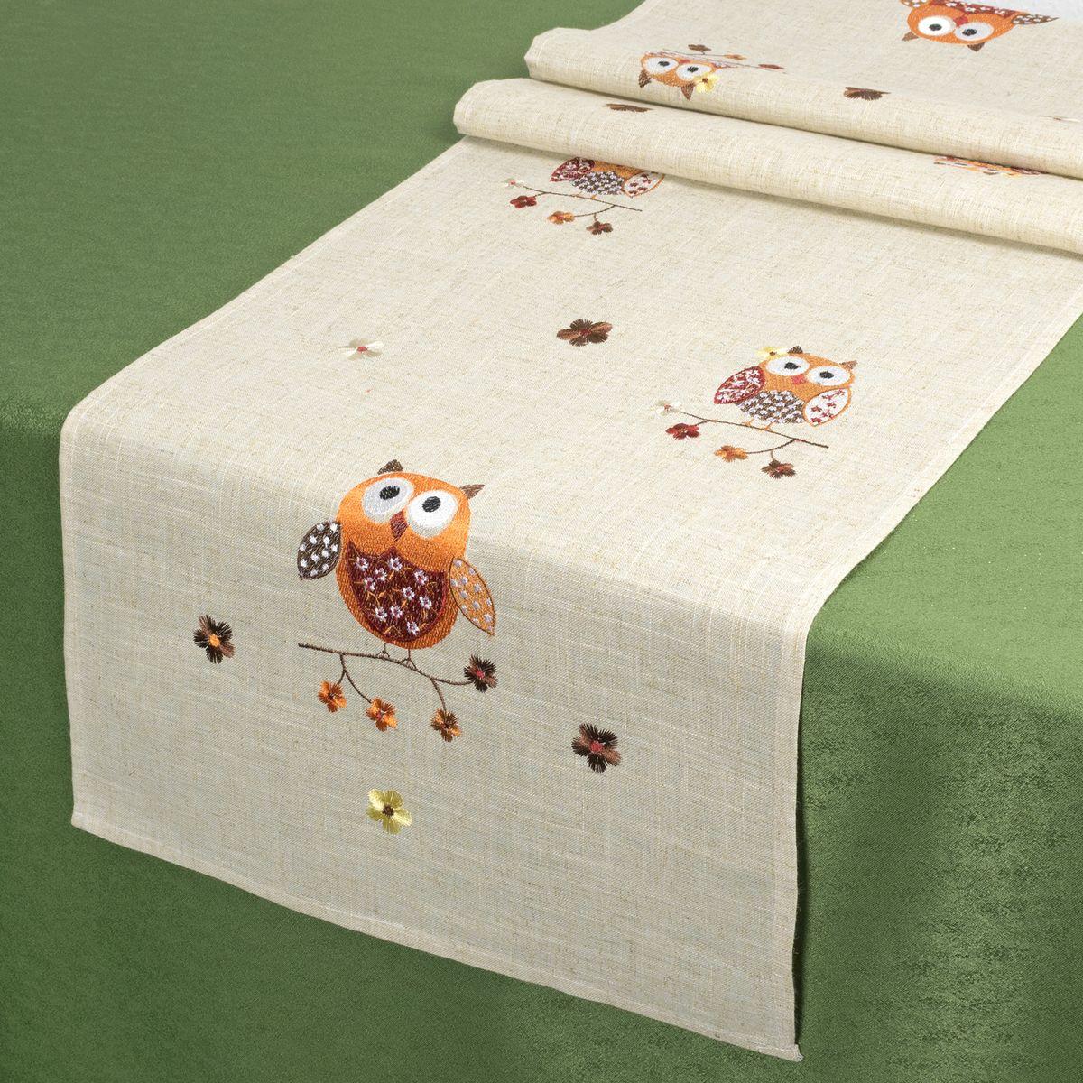 Дорожка для декорирования стола Schaefer, 40 х 140 см. 07798-21107798-211Дорожка для декорирования стола Schaefer может быть использована, как основной элемент, так и дополнение для создания уюта и романтического настроения.Дорожка выполнена из полиэстера. Изделие легко стирать: оно не мнется, не садится и быстро сохнет, более долговечно, чем изделие из натуральных волокон.Материал: 100% полиэстер.Размер: 40 х 140 см.