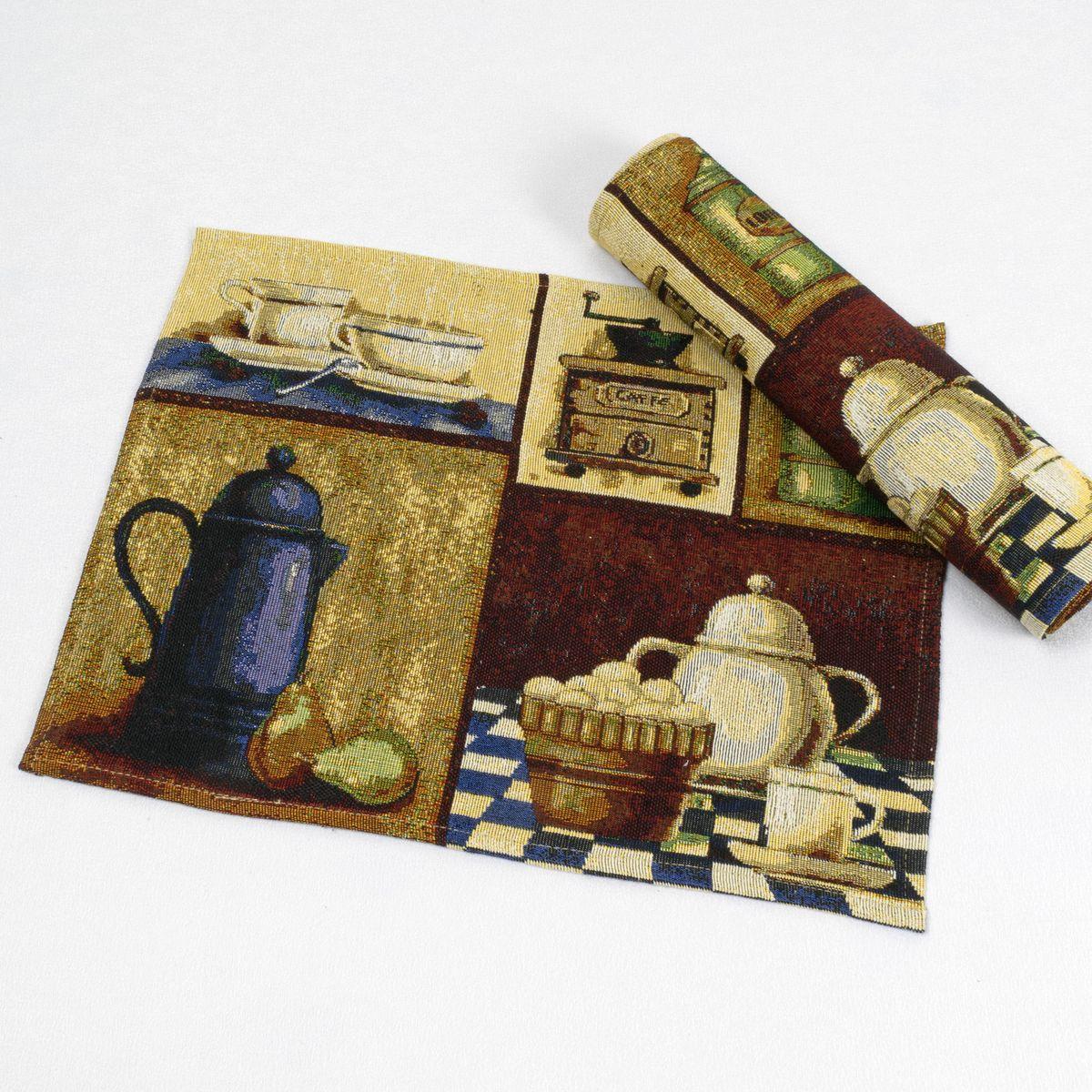 Салфетка Schaefer, цвет: коричневый, бежевый, 33 х 46 см. 07832-31807832-318Салфетка Schaefer, выполненная из 65% полиэстера и 35% хлопка оформлена оригинальным рисунком.Изысканный текстиль от компании Schaefer - это красота, стиль и уют в вашем доме. Благодаря декоративным салфеткам ваш стол заиграет новыми красками, ведь именно небольшие и милые акценты задают тон и настроение. Дарите себе и близким красоту каждый день! Изделие легко стирать (вручную) и гладить, не требует специального ухода. Размер: 33 х 46 см.