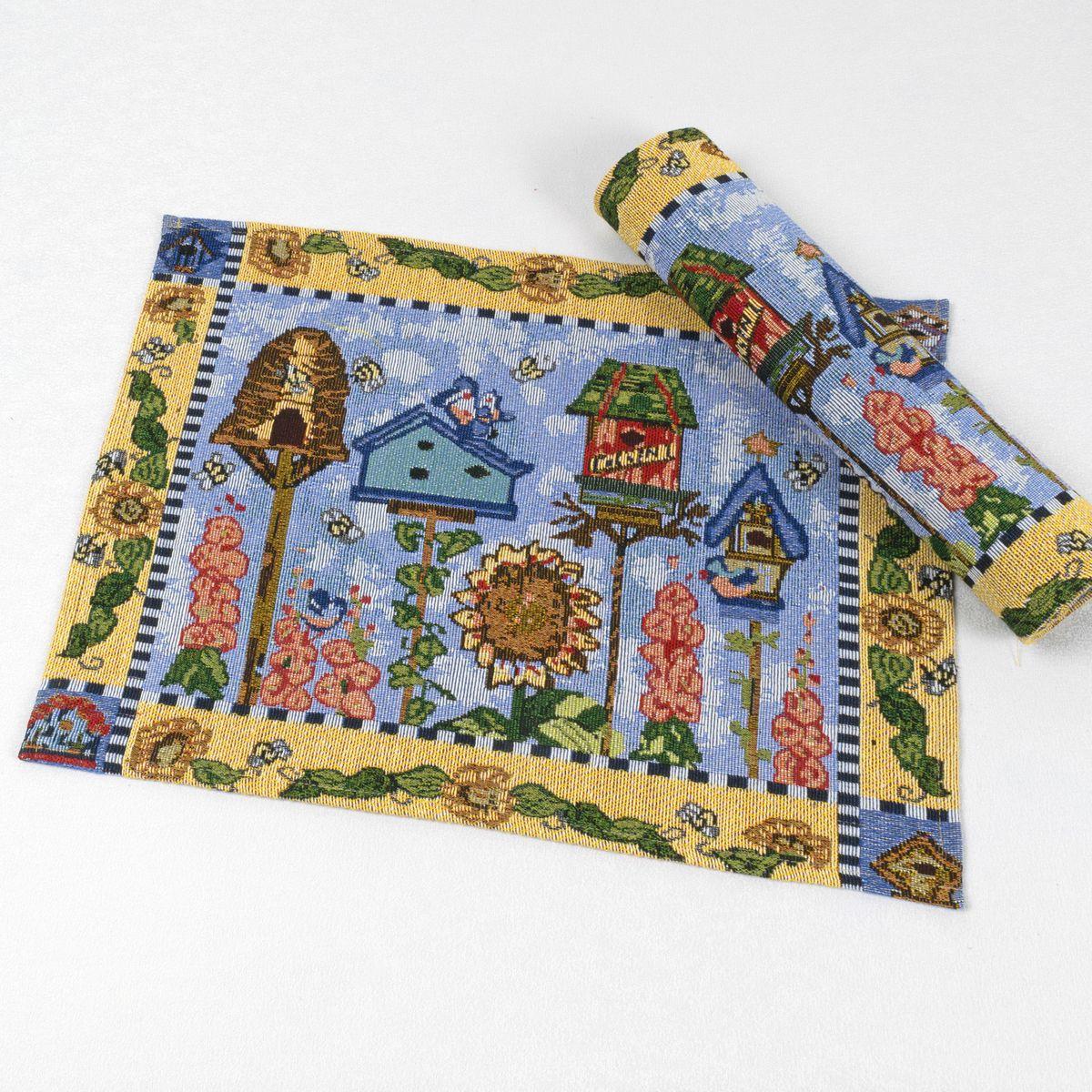 Салфетка Schaefer , 33 х 46 см. 07835-31806929-430Салфетка Schaefer, выполненная из 65% полиэстера и 35% хлопка оформлена оригинальным рисунком. Изысканный текстиль от компании Schaefer - это красота, стиль и уют в вашем доме. Благодаря декоративным салфеткам ваш стол заиграет новыми красками, ведь именно небольшие и милые акценты задают тон и настроение. Дарите себе и близким красоту каждый день!Изделие легко стирать (вручную) и гладить, не требует специального ухода.