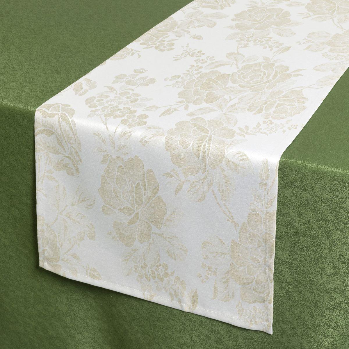 Дорожка для декорирования стола Schaefer, 40 х 140 см. 07837-21107837-211Дорожка для декорирования стола Schaefer может быть использована, как основной элемент,так и дополнение для создания уюта и романтического настроения. Дорожка выполнена из полиэстера. Изделие легко стирать: оно не мнется, не садится и быстросохнет, более долговечно, чем изделие из натуральных волокон. Материал: 100% полиэстер. Размер: 40 х 140 см.