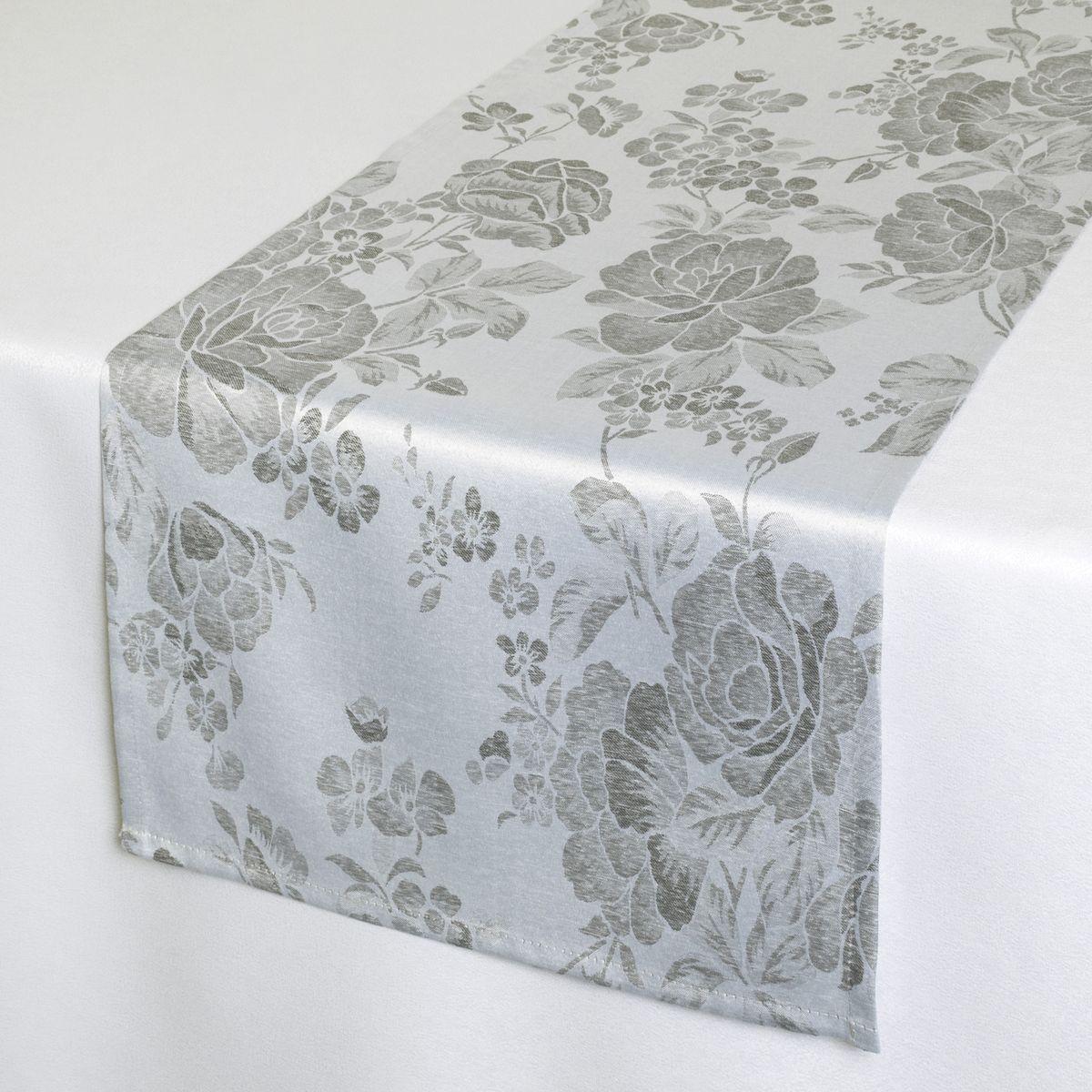 Дорожка для декорирования стола Schaefer, 40 х 140 см. 07838-21107838-211Дорожка для декорирования стола Schaefer может быть использована, как основной элемент, так и дополнение для создания уюта и романтического настроения.Дорожка выполнена из полиэстера. Изделие легко стирать: оно не мнется, не садится и быстро сохнет, более долговечно, чем изделие из натуральных волокон.Материал: 100% полиэстер.Размер: 40 х 140 см.