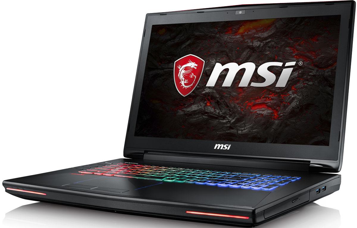 MSI GT72S 6QE-1043RU Dominator Pro 4K, BlackGT72S 6QE-1043RUMSI GT72S 6QE Dominator Pro 4K - мощный игровой ноутбук, внутри которого самые продвинутые мобильные комплектующие: процессор шестого поколения Intel Core i7 и графическая карта NVIDIA GeForce GTX 980M.Skylake - это кодовое имя новой 14-нм микроархитектуры процессоров Intel последнего, 6-го поколения. По сравнению с предыдущими поколениями платформа Skylake обладает сниженным энергопотреблением при повышенной производительности. MSI GT72S 6QE Dominator Pro 4K оснащен процессором Core i7 6820HK с возможностью разгона от 3.ГГц до 4 ГГц и выше. Super RAID 4 - это новейшая технология построения высокоскоростных систем хранения данных, основанная на архитектуре RAID 0. Объединяя два модуля PCI-E Gen.3 x4 SSD в единое целое, она позволяет развить невероятную скорость передачи данных - более 3800 Мбайт/с в режиме чтения! Вы сможете достичь максимально возможной производительности вашего ноутбука благодаря поддержке оперативной памяти DDR4-2133, отличающейся скоростью чтения более 2,9 Гбайт/с и скоростью записи 3,5 Гбайт/с. Возросшая на 30% производительность стандарта DDR4-2133 (по сравнению с предыдущим поколением, DDR3-1600) поднимет ваши впечатления от современных и будущих игровых шедевров на совершенно новый уровень.Тепло является одним из самых главных условий существования всего живого на Земле. Физика процесса проста: чем больше энергии затрачено, тем больше выделится тепла. Таким образом, охлаждение высокопроизводительных компьютерных систем становится довольно сложной задачей. Эксклюзивная технология MSI Cooler Boost 3 заключается в установке под капот вашего мощного ноутбука двух охлаждающих модулей и их объединения с индивидуальными теплоотводами - для GPU и CPU. Одно нажатие кнопки запуска системы охлаждения на полную мощь, и несколько теплоотводов в сочетании с двумя вентиляторами активно выведут генерируемое системой тепло наружу. Такое решение делает эту модель ноутбуком с самой эффективной системо