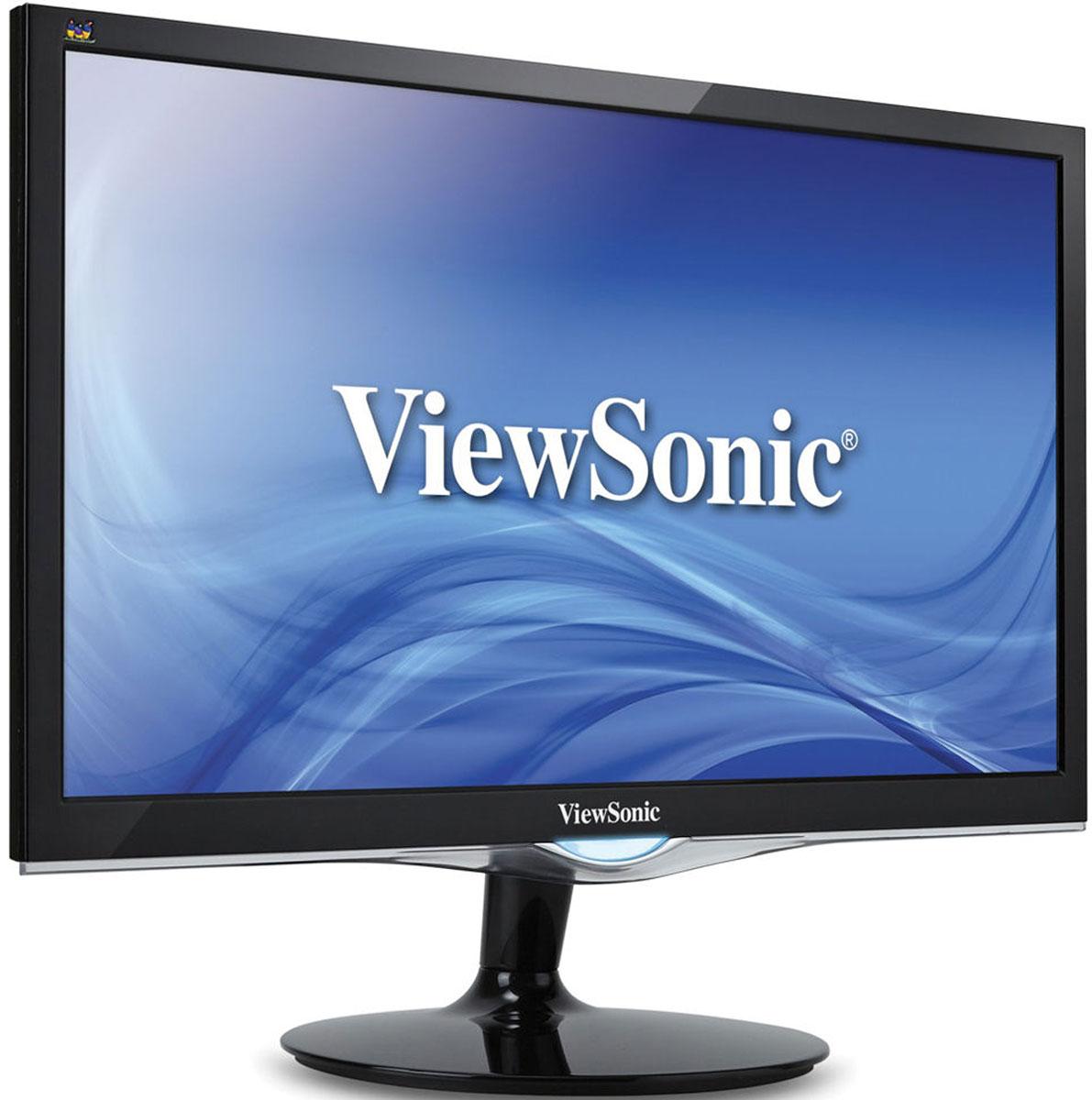 ViewSonic VX2452MH, Black мониторVS15562ViewSonic VX2452mh — это монитор Full HD с диагональю 24 дюйма/ 61 см (видимая область 23,6 дюйма/ 60 см) и глянцевым покрытием, который обеспечивает идеальное отображение контента в играх и при просмотре развлекательного мультимедиа. Монитор VX2452mh оснащен технологией ClearMotiv II, которая обеспечивает сверхвысокое время отклика 2 мс для четкой, не размытой передачи изображений во время игр, а также ультравысокий коэффициент динамической контрастности MEGA 50 000 000:1 для живой и резкой цветопередачи во время просмотра фильмов. Интегрированные входные разъемы D-sub, DVI и HDMI обеспечивают гибкость подключения к мультимедийным устройствам высокой четкости и игровым приставкам, а двойные встроенные стереодинамики на 2 Вт делают устройство идеальным для воспроизведения мультимедиа. Благодаря креплению VESA монитор VX2452mh можно установить на стену, делая более гибким использование в игровых и развлекательных целях. Время отклика составляет всего 2 мс, что позволяет монитору VX2452mh обеспечивать плавность изображения без рывков, размытия или появление фантомных эффектов. Это сверхбыстрое время отклика идеально для игр с интенсивным использованием графической подсистемы, а также хорошо подойдет для просмотра спортивных передач или боевиков.Монитор VX2452mhимеет разрешение Full HD 1920x1080 и максимально точно передает каждый пиксель изображения. Благодаря сверхвысокому коэффициенту динамической контрастности MEGA 50 000 000:1 монитор VX2452mh позволяет наслаждаться удивительной четкостью и детализацией независимо от того, играете ли вы в игры или смотрите развлекательную передачу.Игровой режим обеспечивает улучшенную видимость и детализацию благодаря осветлению темных сцен без дополнительного экспонирования ярких участков. Наблюдение за каждым действием даже в самых темных областях видеоигры становится с помощью нашего игрового режима элементарной задачей.Исключительно высокий динамический коэффициент контрастности 50 000 0