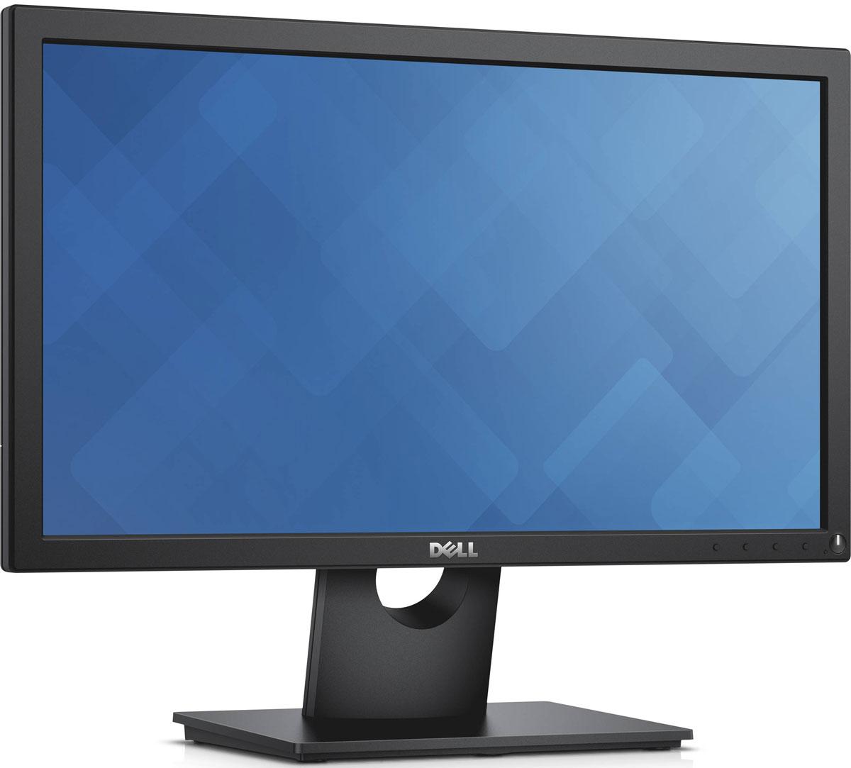 Dell E2016H, Black монитор016H-1934Надежный недорогой 20-дюймовый монитор с базовыми функциями, которые соответствуют повседневным офисным задачам.Основные функциональные возможности. Дисплей с разрешением высокой четкости и возможностью просмотра под разными углами, совместимый с креплениями VESA, с различными вариантами наклона, разъемами VGA и DisplayPort. Надежная производительность. Соответствие высоким стандартам тестирования качества с трехлетней гарантией и сервисным обслуживанием для высокой производительности в долгосрочной перспективе. Экологически безопасная конструкция. Экономия энергии благодаря компонентам с эффективным энергопотреблением.Характеристики экрана: 20-дюймовый экран с разрешением высокой четкости (1600 x 900), поддерживающий 16,7 миллиона цветов, с цветовым охватом 85%1 и углом просмотра в горизонтальной/вертикальной плоскости 170°/160°, превосходно подходит для работы с офисными приложениями, составления электронных таблиц и многого другого. Простое подключение к компьютеру: совместим с компьютерами как прошлого, так и текущего поколения благодаря наличию разъемов VGA и DisplayPort.Опциональный крепеж: избавьтесь от беспорядка на рабочем столе, установив монитор, соответствующий требованиям стандарта VESA, на стене или кронштейне для одного монитора Dell. Регулировка наклона в соответствии с вашими предпочтениями: удобство в работе благодаря возможности наклона монитора до 5° вперед и до 21° назад. Удобные средства управления: легкодоступные кнопки для управления питанием, яркостью, контрастностью и настройки предустановленных режимов на передней панели монитора.Сокращение воздействия на окружающую среду: 20-дюймовый монитор Dell поддерживает технологию PowerNap, которая уменьшает яркость неиспользуемого монитора или переводит его в спящий режим. Это монитор также соответствует требованиям новейших нормативных требований и экологических стандартов.Экологически безопасные материалы: в конструкции нового монитора Dell используется стекло, 
