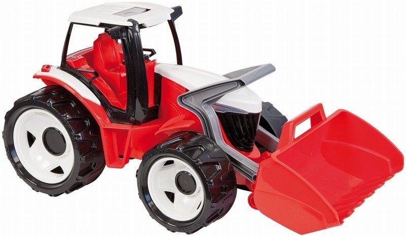 купить Lena Трактор с грейдером цвет красный белый по цене 1699 рублей