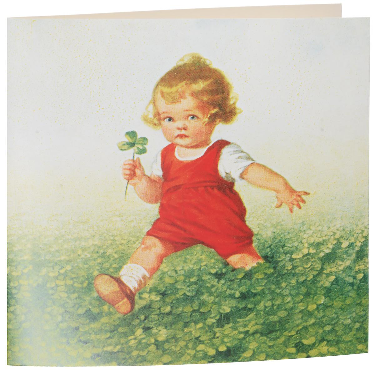 Открытка поздравительная Darinchi № 35, формат А5. Авторская работа681Замечательная поздравительная открытка.