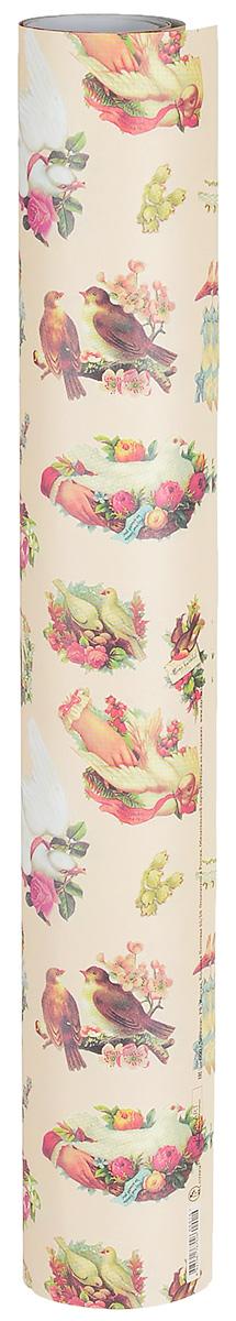 Бумага упаковочная Даринчи № 16, 69 х 48 см, 2 листаБумага16Замечательная упаковочная бумага