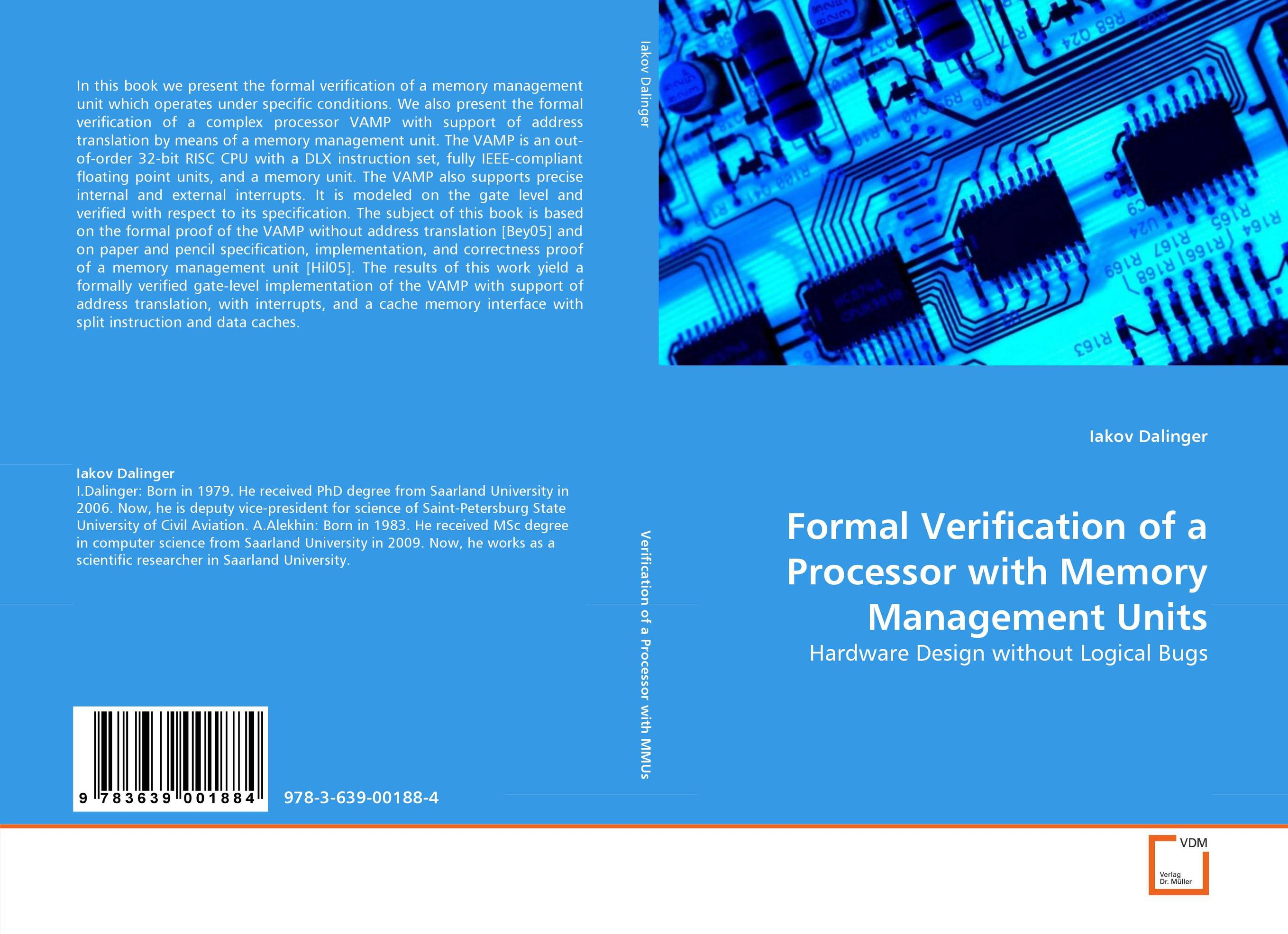 Formal Verification of a Processor with Memory Management Units a decision support tool for library book inventory management