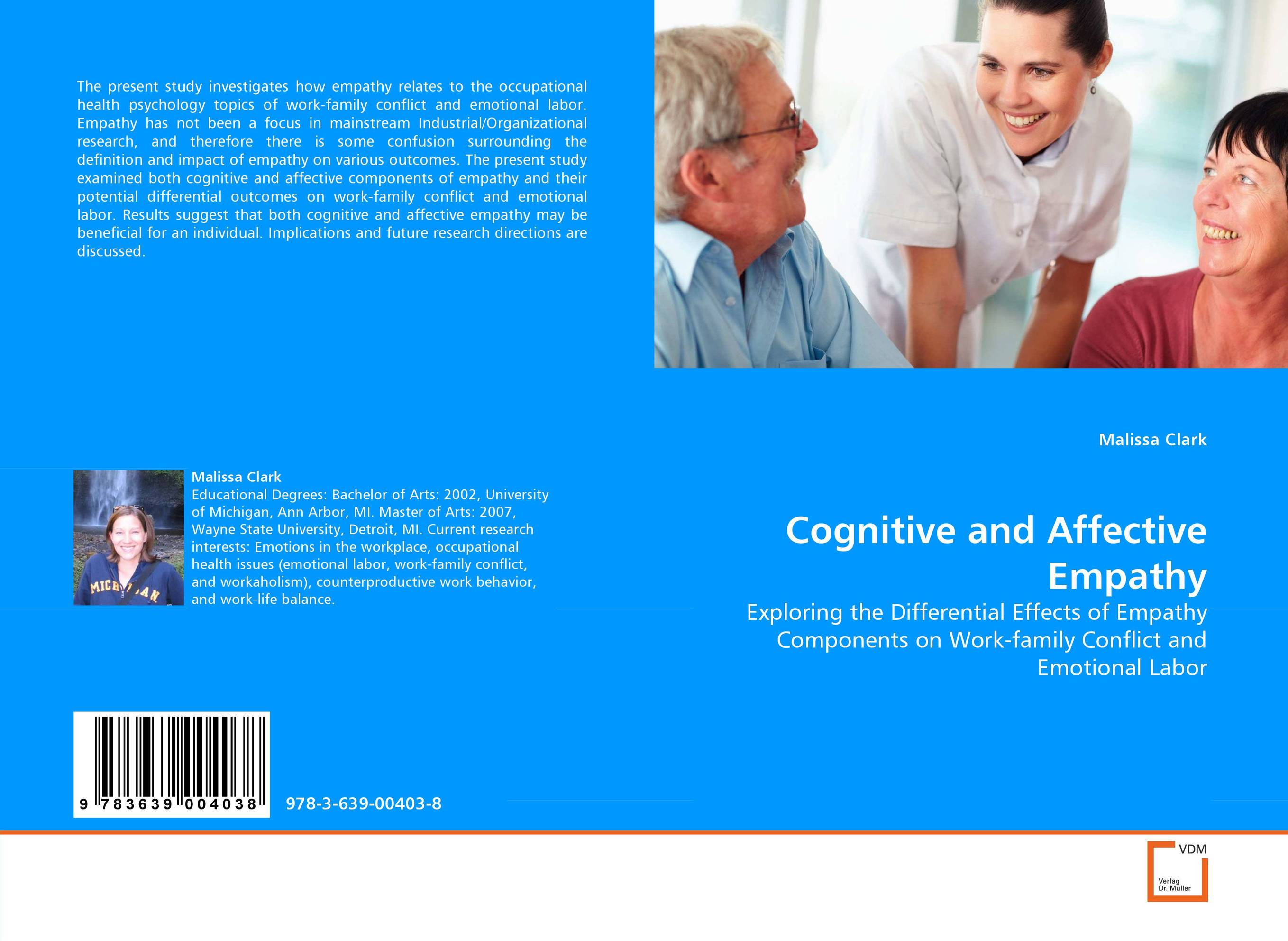 Cognitive and Affective Empathy industrial and organizational psychology research and practice