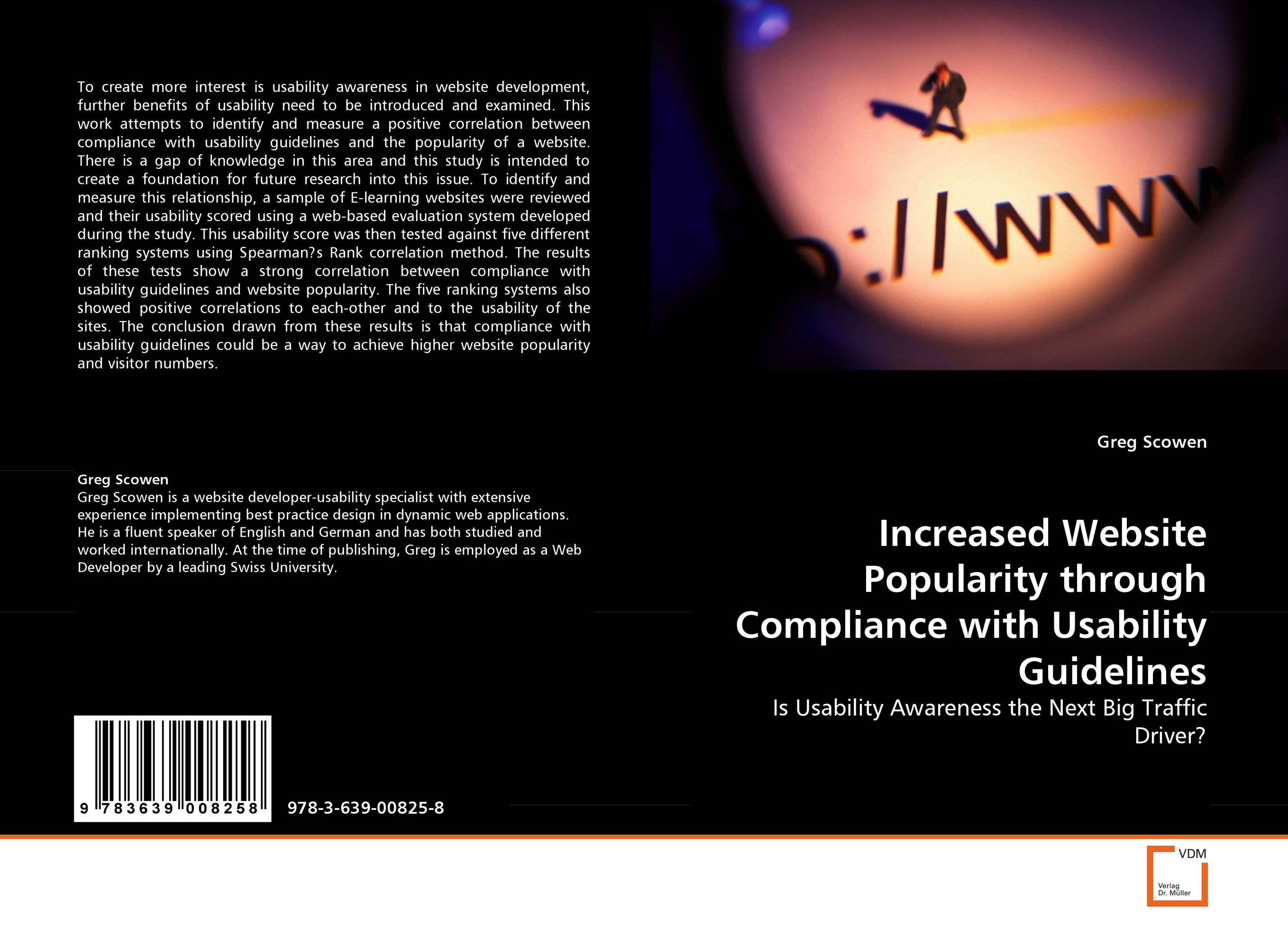 Increased Website Popularity through Compliance with Usability Guidelines