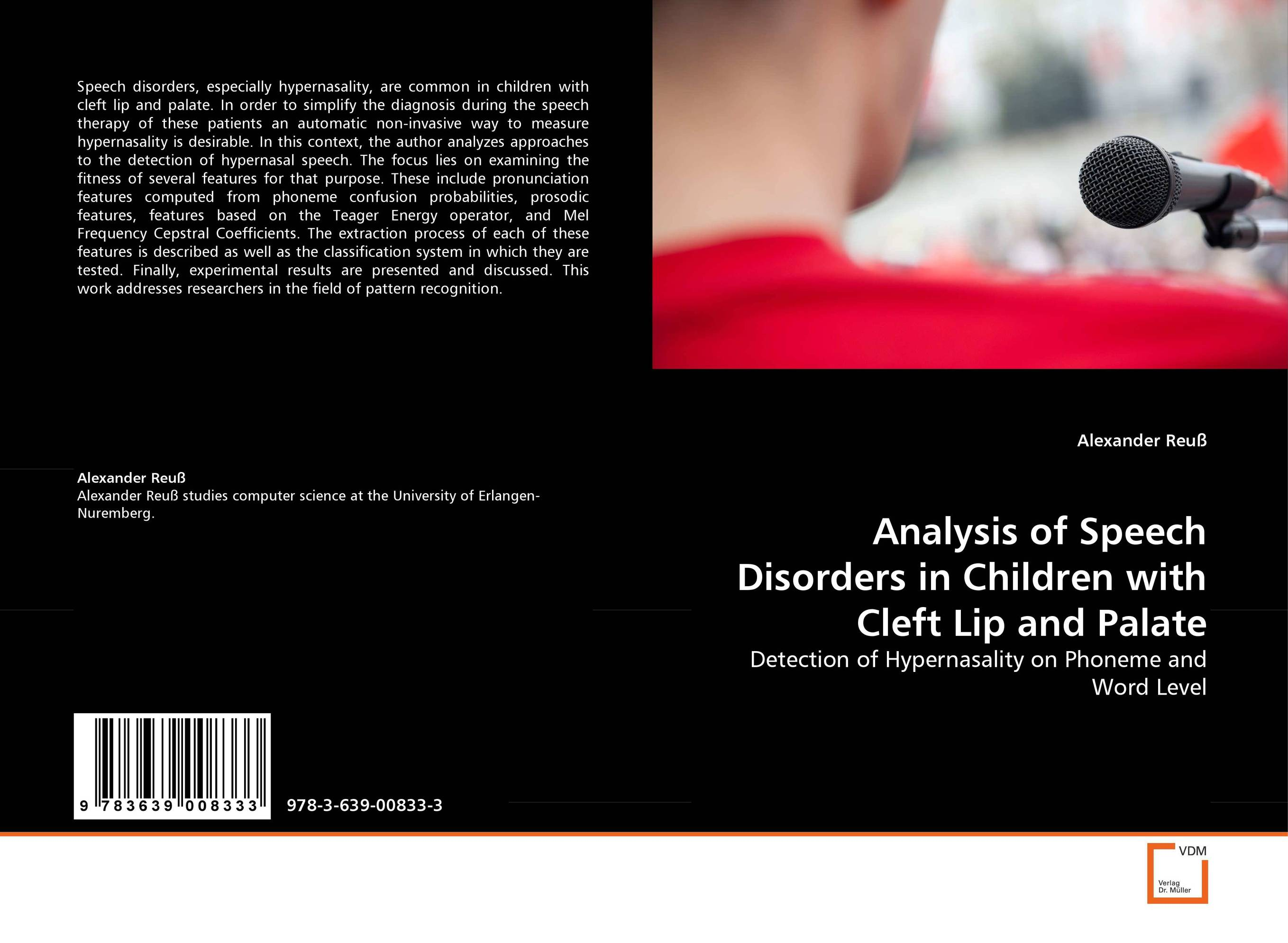 Analysis of Speech Disorders in Children with Cleft Lip and Palate the role of family interventions in the therapy of eating disorders