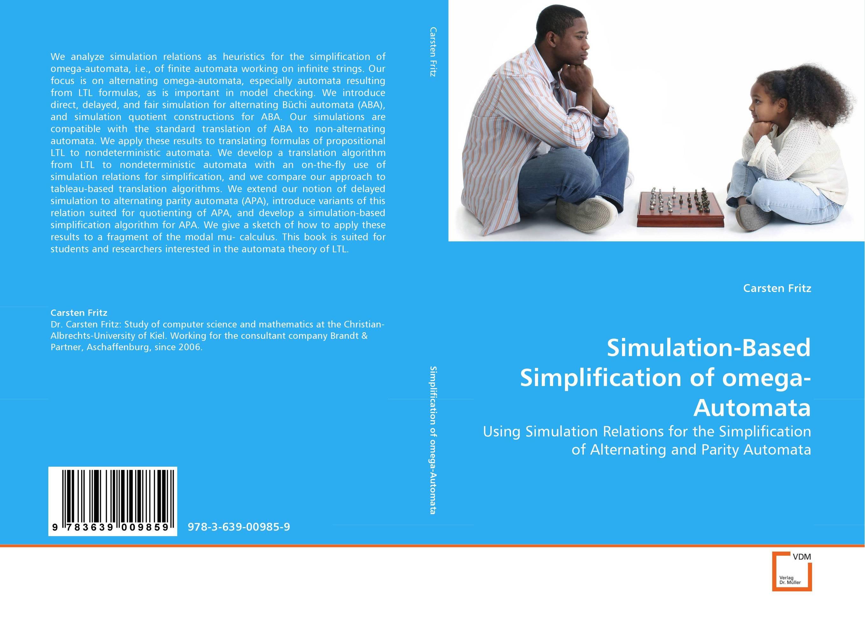 Simulation-Based Simplification of omega-Automata basics of automata languages and computation