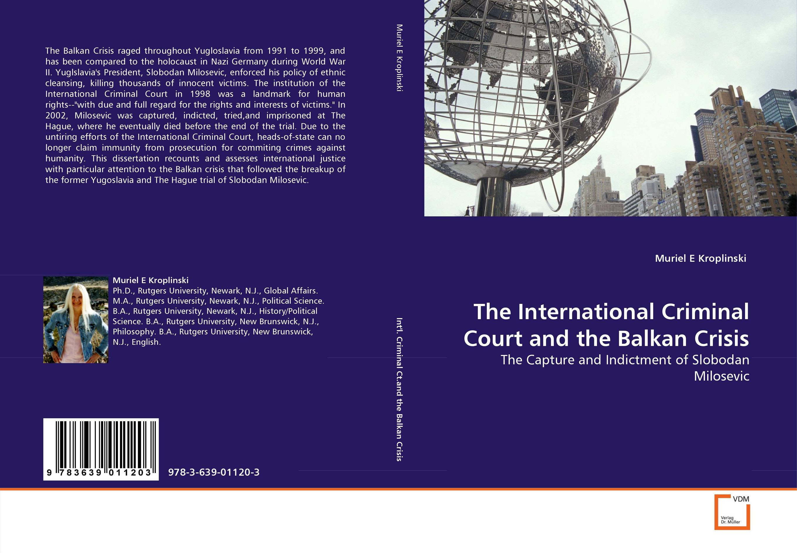 The International Criminal Court and the Balkan Crisis immunity of heads of state