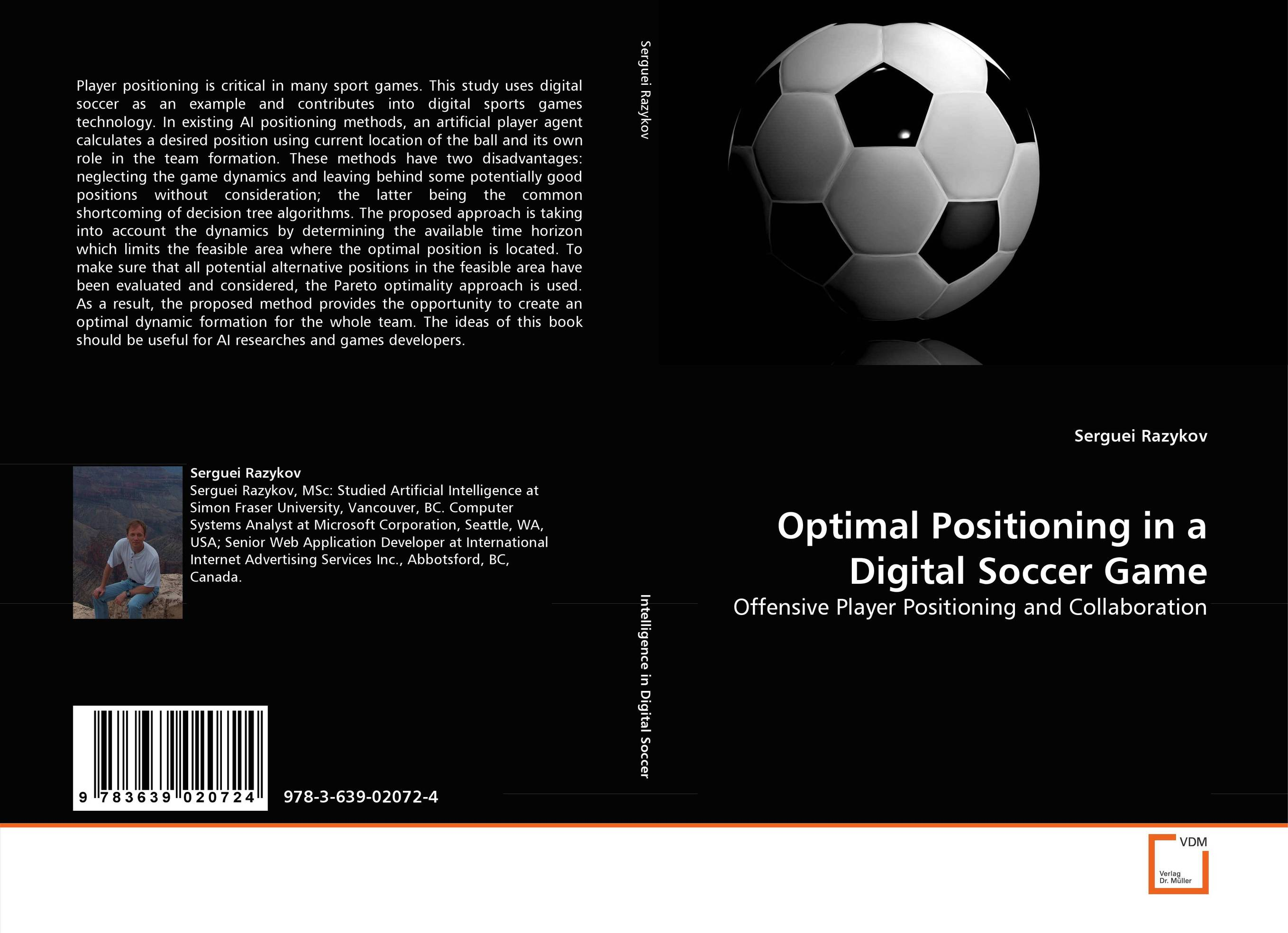 Optimal Positioning in a Digital Soccer Game