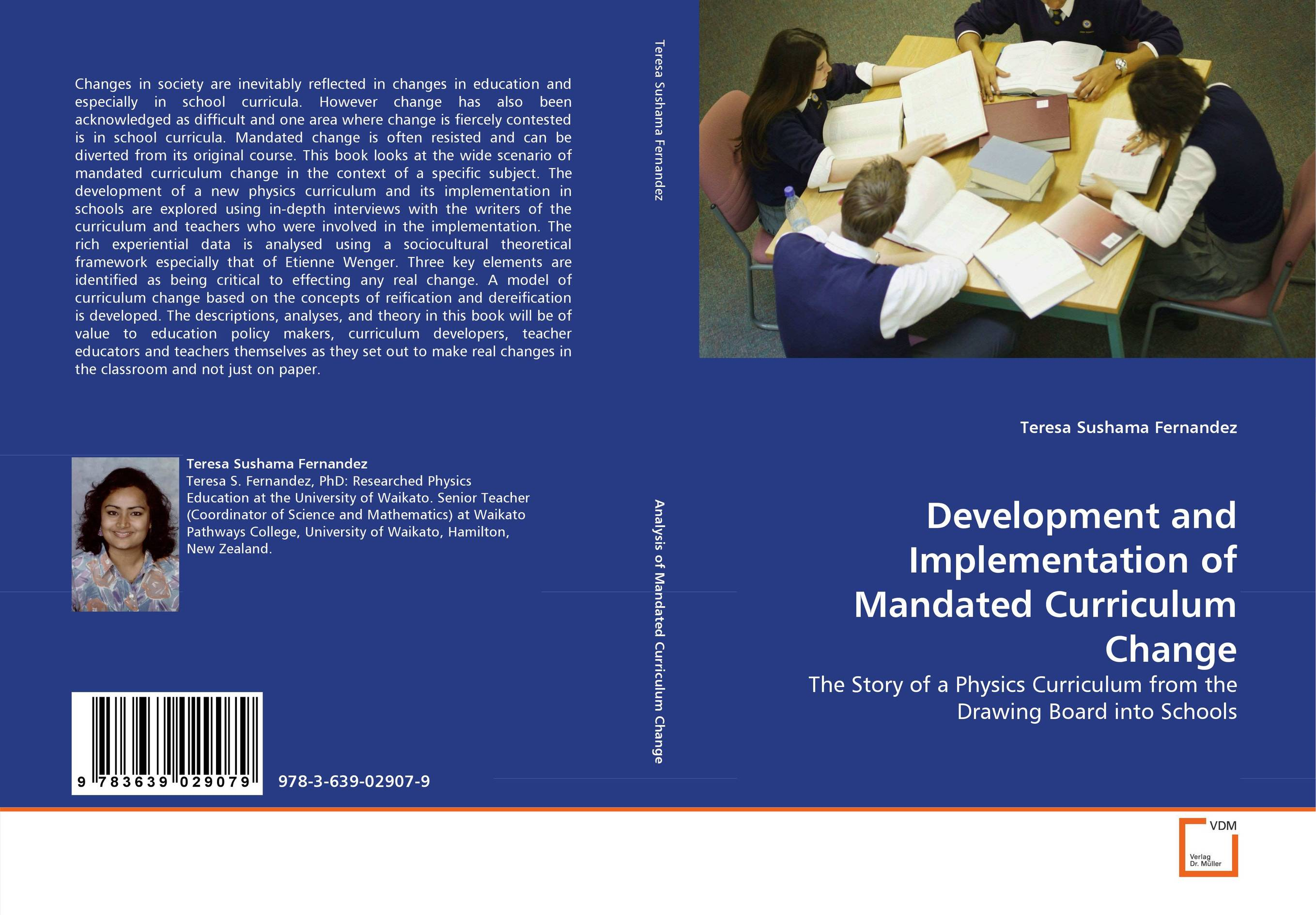 Development and Implementation of Mandated Curriculum Change curriculum implementation