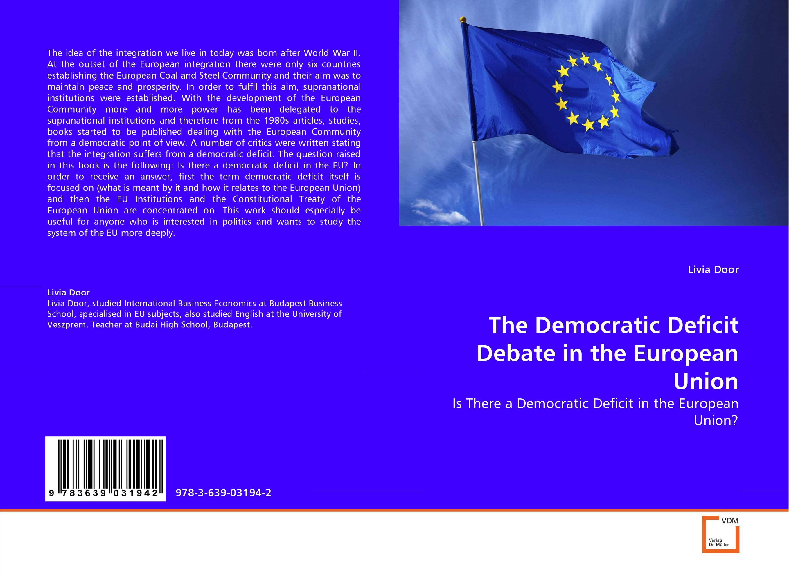 The Democratic Deficit Debate in the European Union development of the third european union maritime safety package