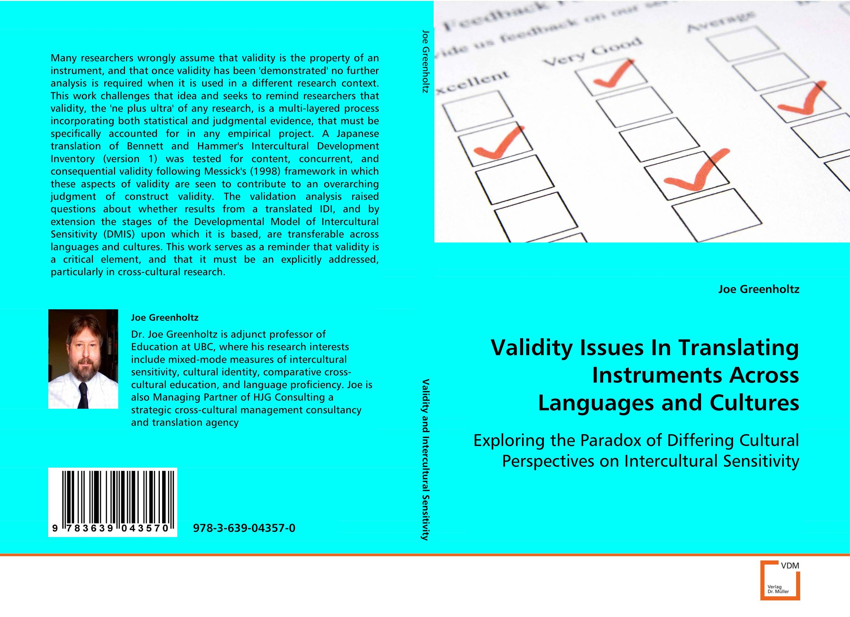 Validity Issues In Translating Instruments AcrossLanguages and Cultures the internal load analysis in soccer