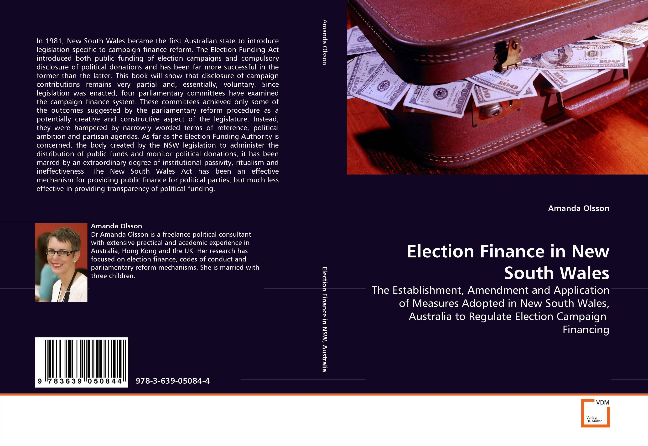 an introduction to the campaign financing of elections