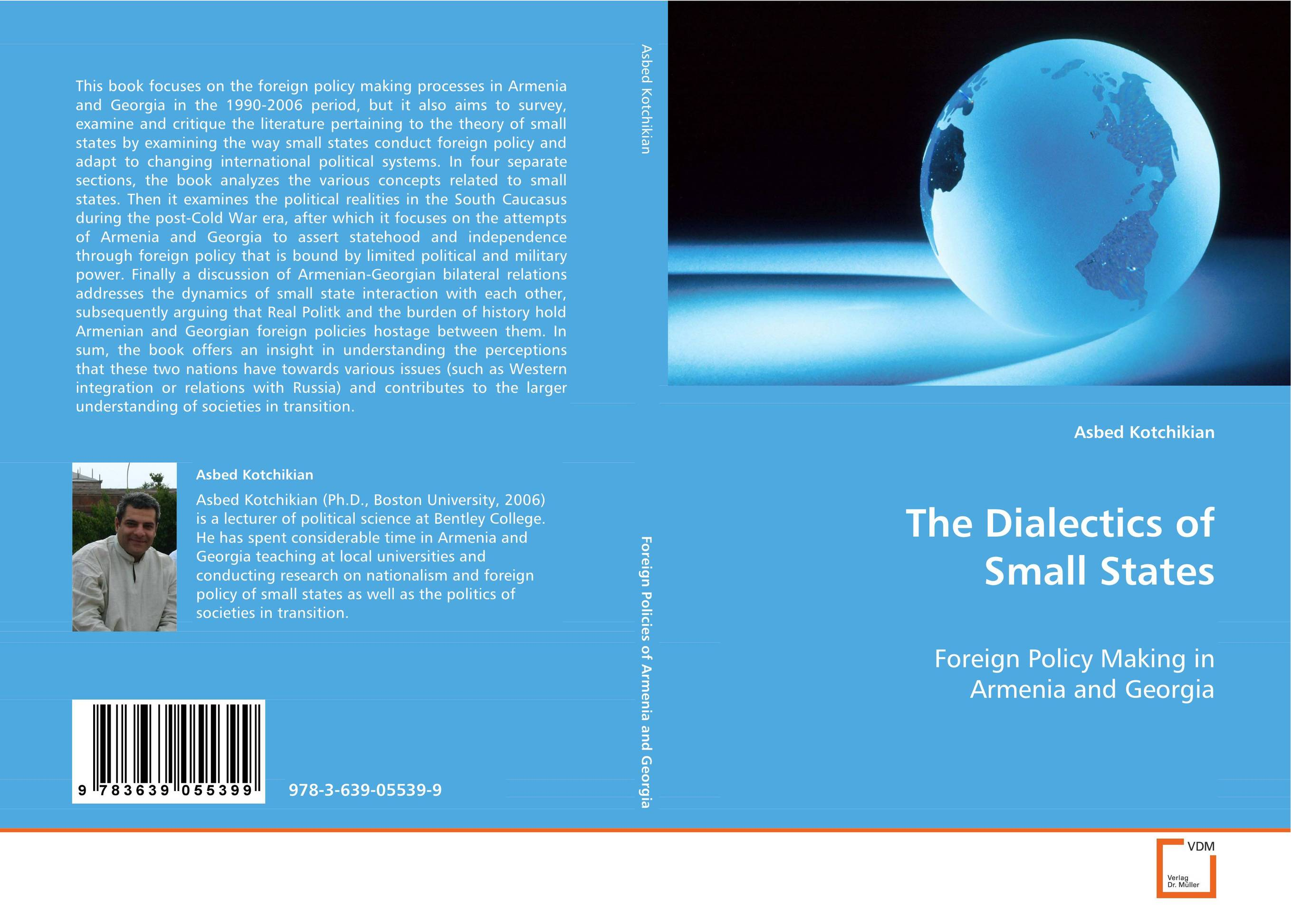 The Dialectics of Small States travels in the united states etc during 1849 and 1850