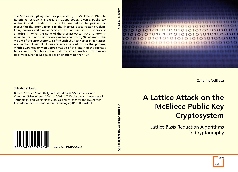 A Lattice Attack on the McEliece Public Key Cryptosystem public parks – the key to livable communities