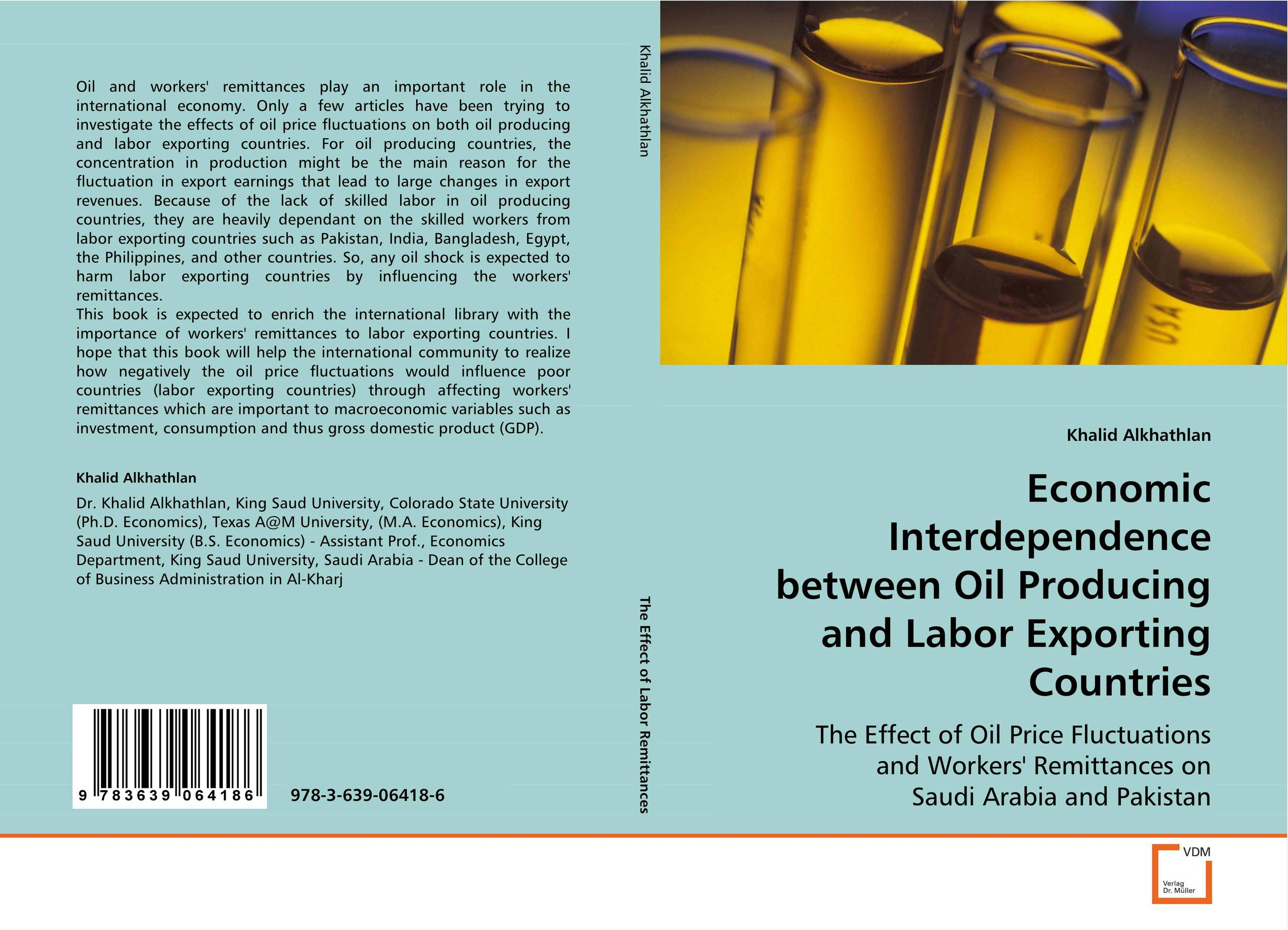 Economic Interdependence between Oil Producing andLabor Exporting Countries p b eregha energy consumption oil price and macroeconomic performance in energy dependent african countries