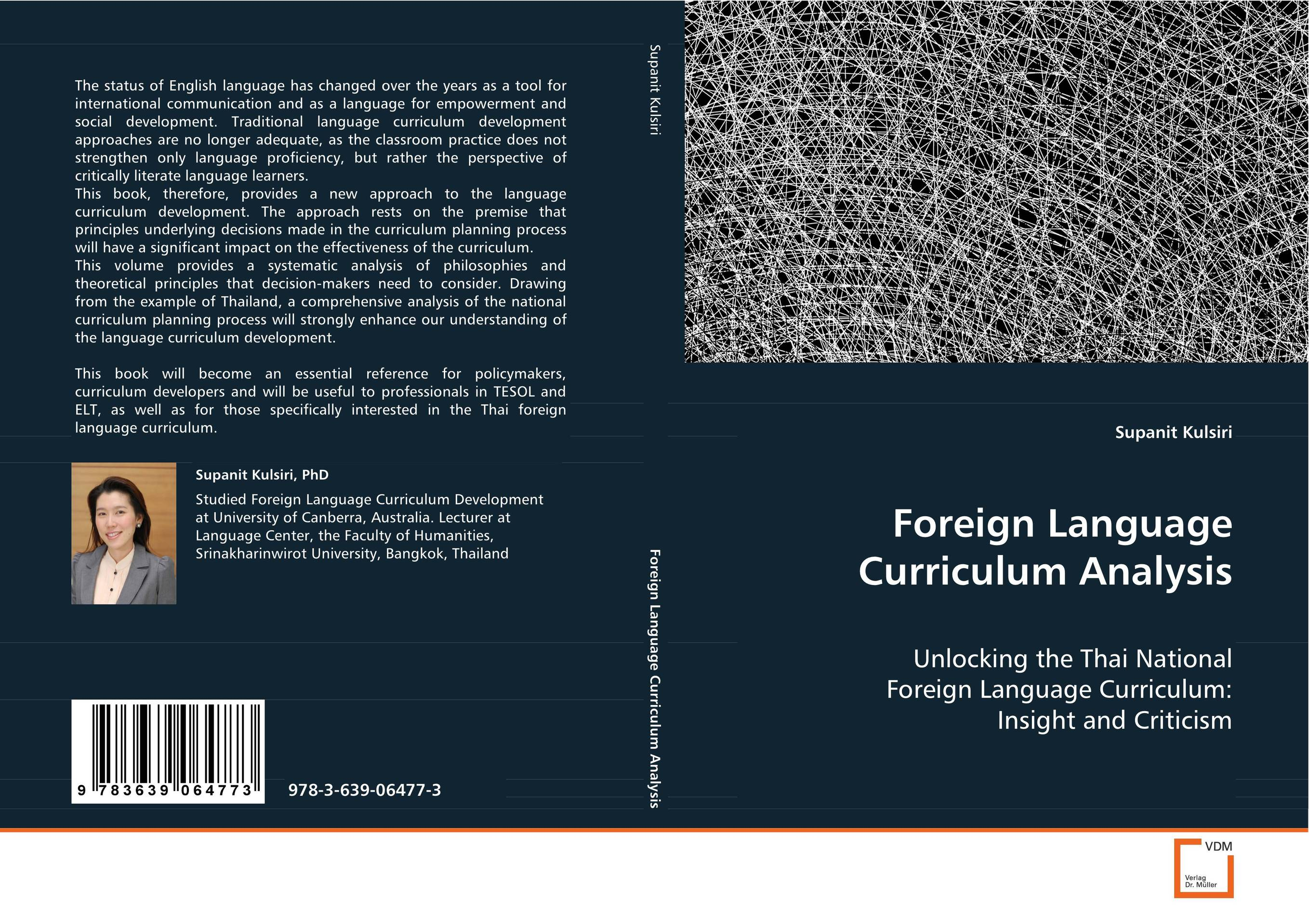 Foreign Language Curriculum Analysis efficiency of reform based curriculum