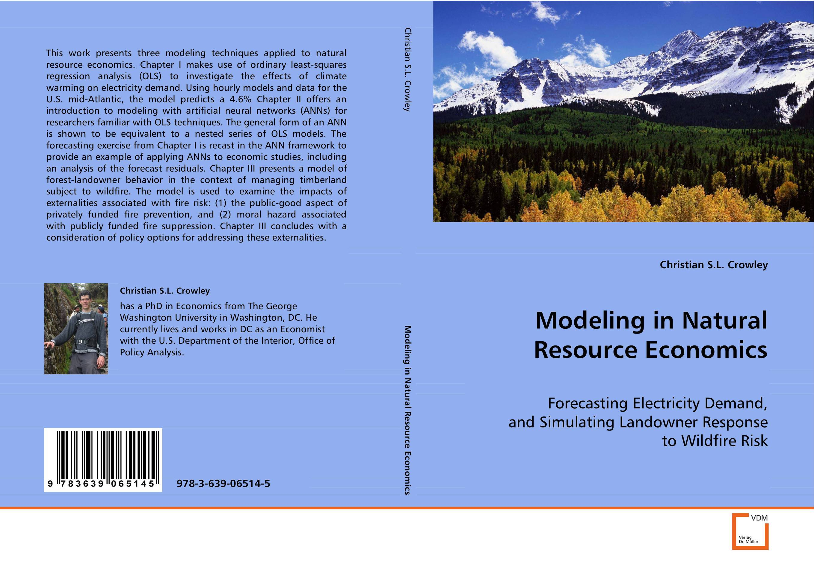 Modeling in Natural Resource Economics managing a scarce resource