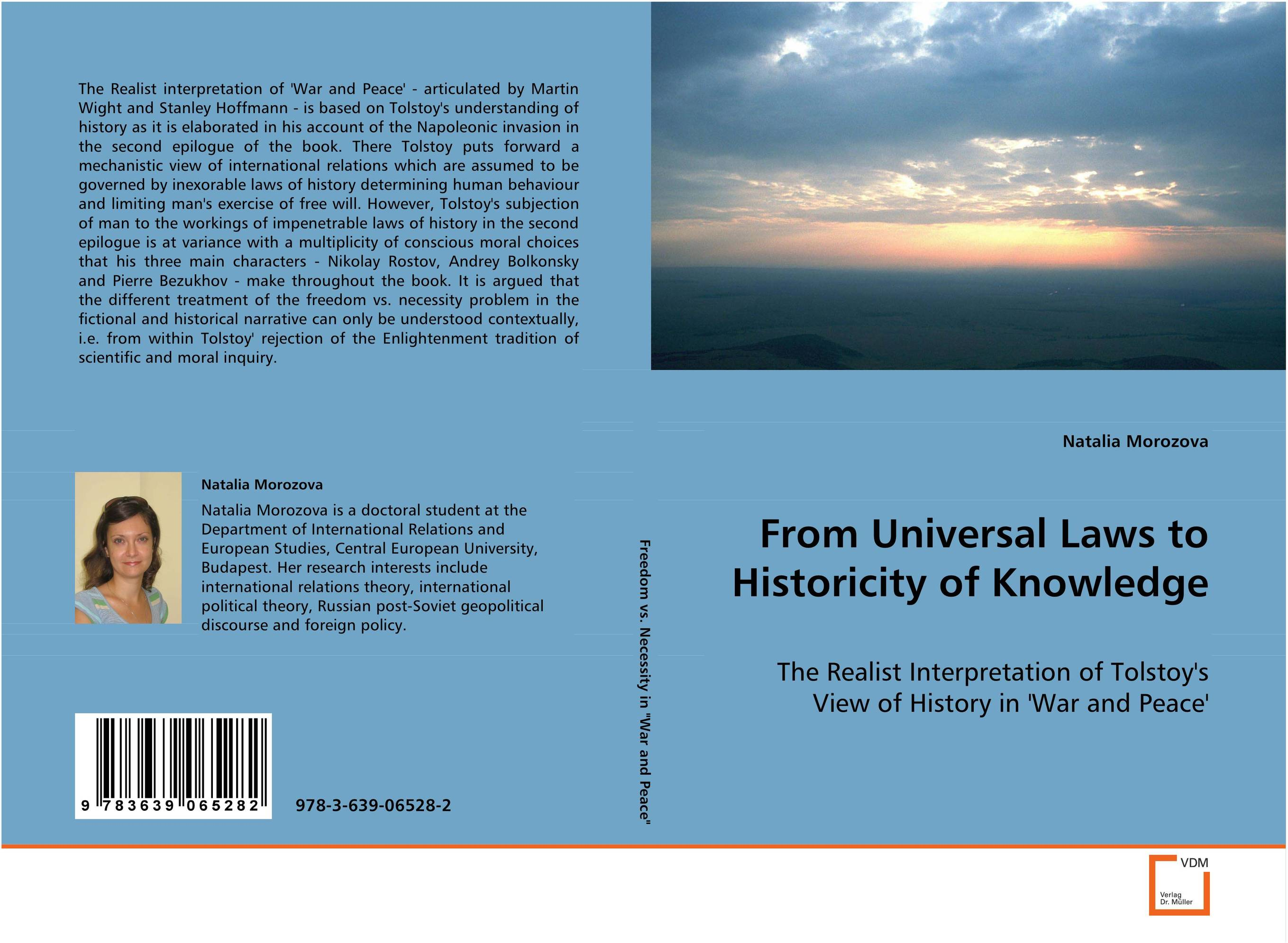 From Universal Laws to Historicity of Knowledge elena fishtik sara laws are keeping silence during the war