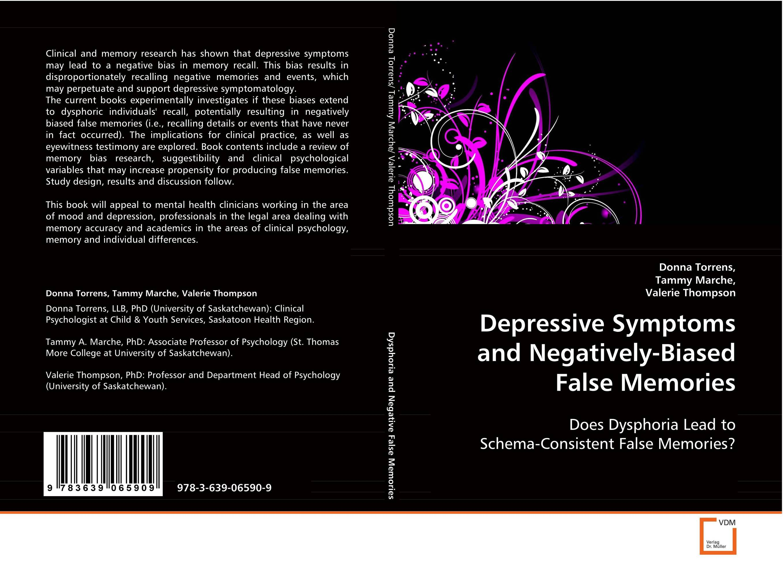 Depressive Symptoms and Negatively-Biased False Memories