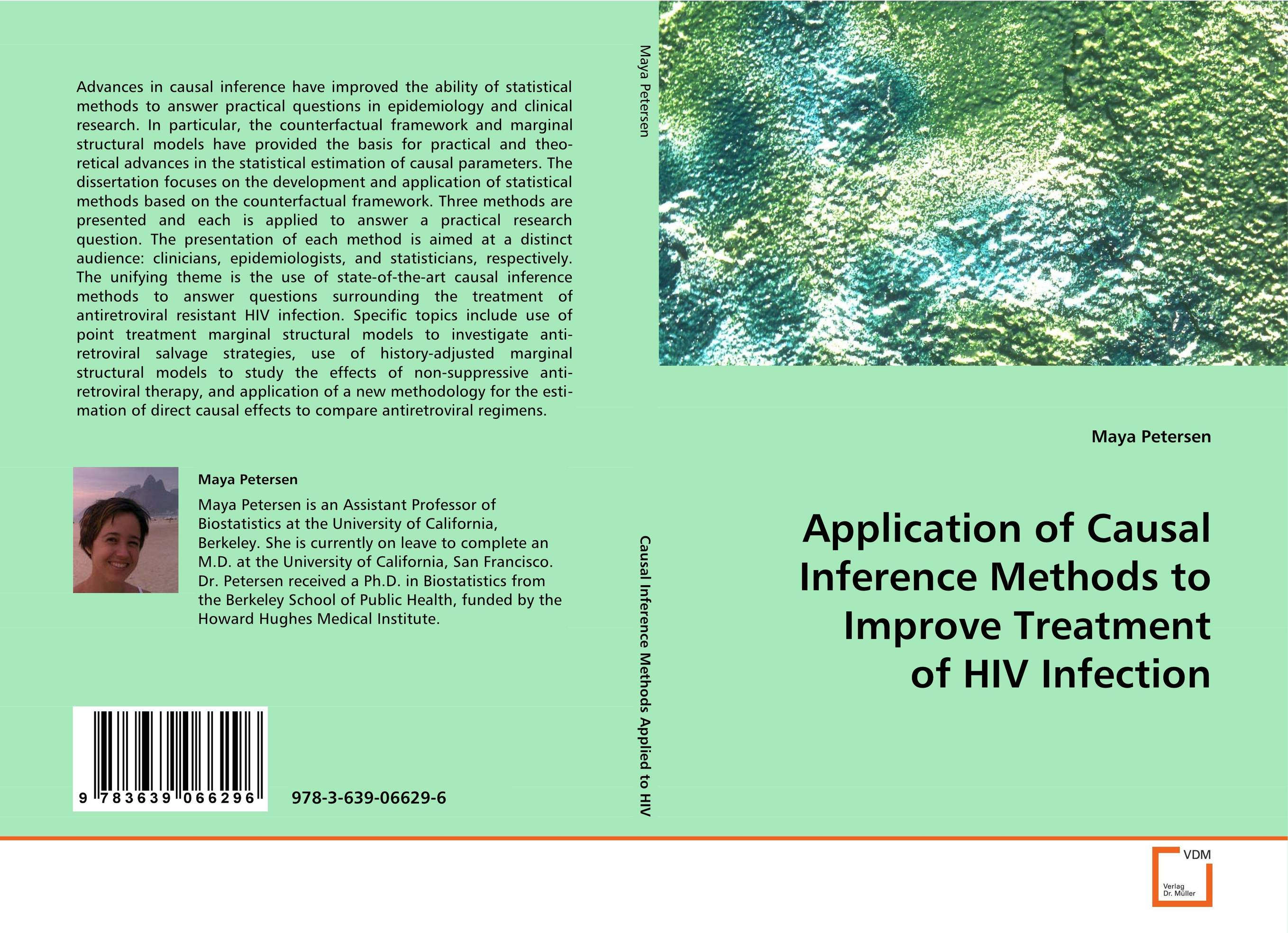 Application of Causal Inference Methods to Improve Treatment of HIV Infection the application of wavelets methods in stefan problem