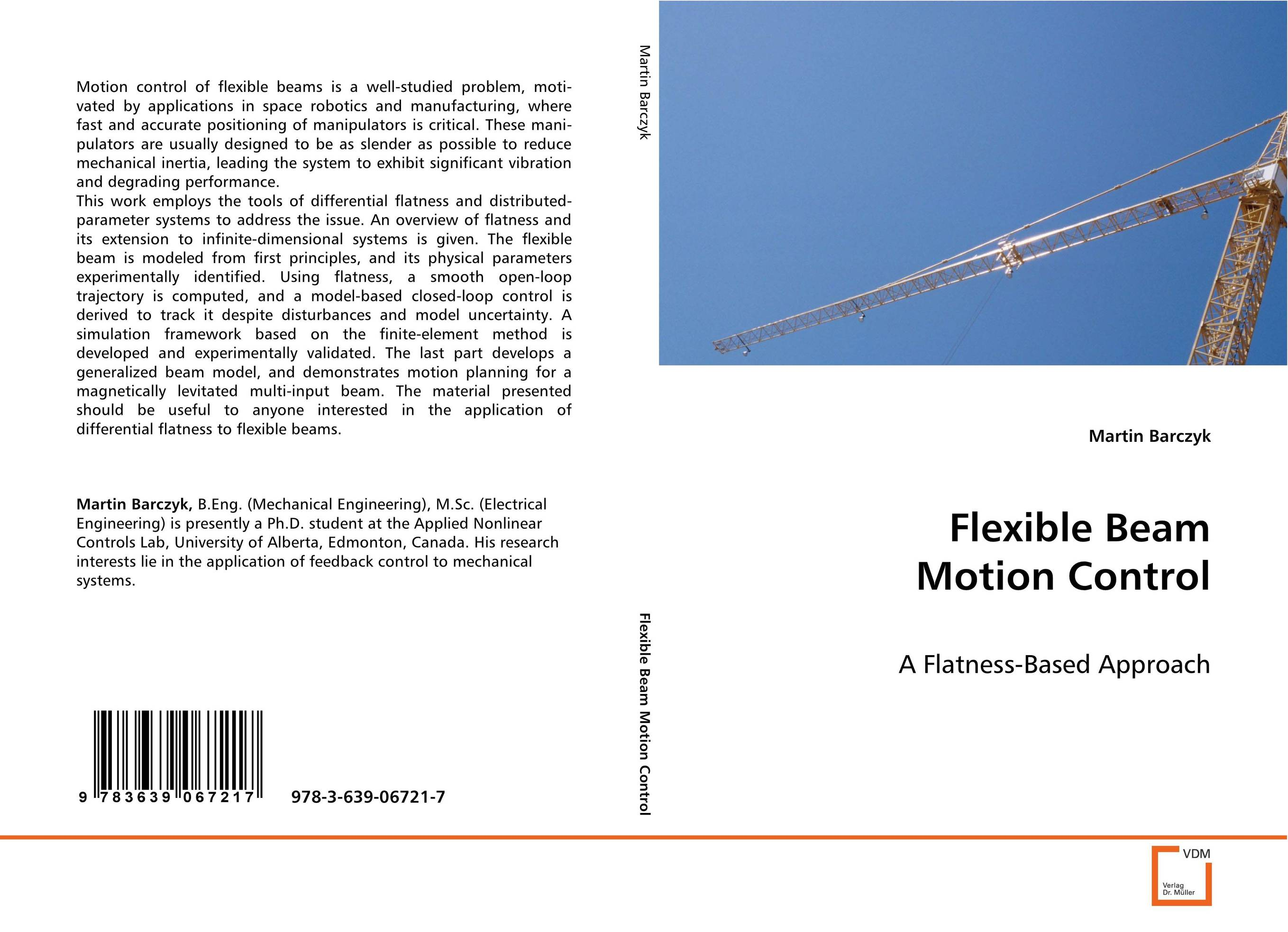 Flexible Beam Motion Control optimal and efficient motion planning of redundant robot manipulators