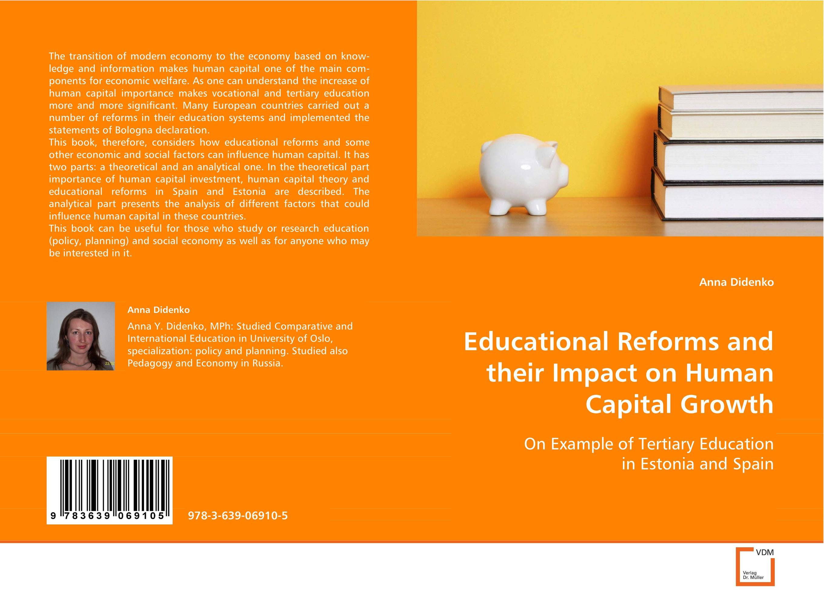 Educational Reforms and their Impact on Human CapitalGrowth i manev social capital and strategy effectiveness an empirical study of entrepreneurial ventures in a transition economy