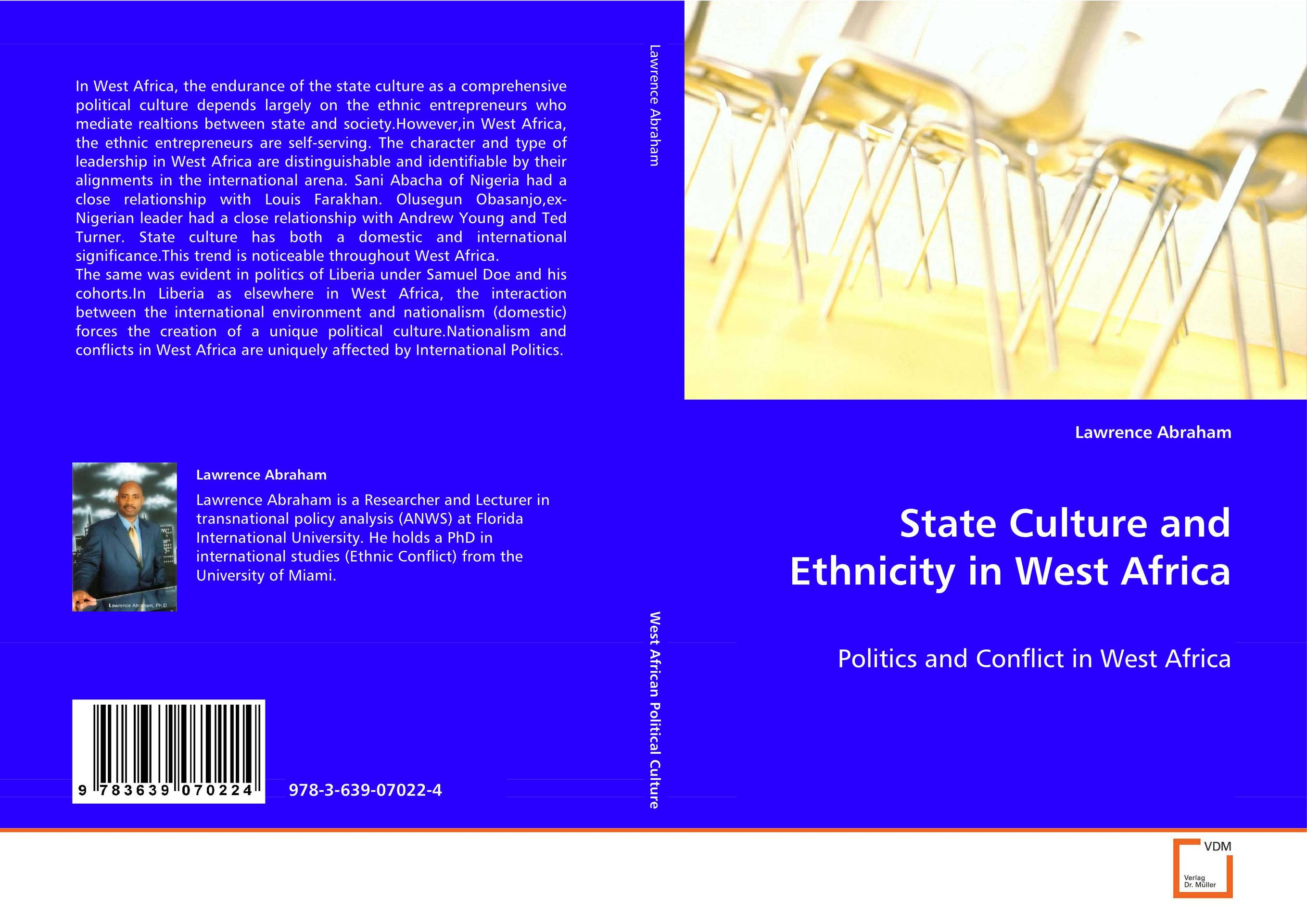 State Culture and Ethnicity in West Africa kent west and the weald