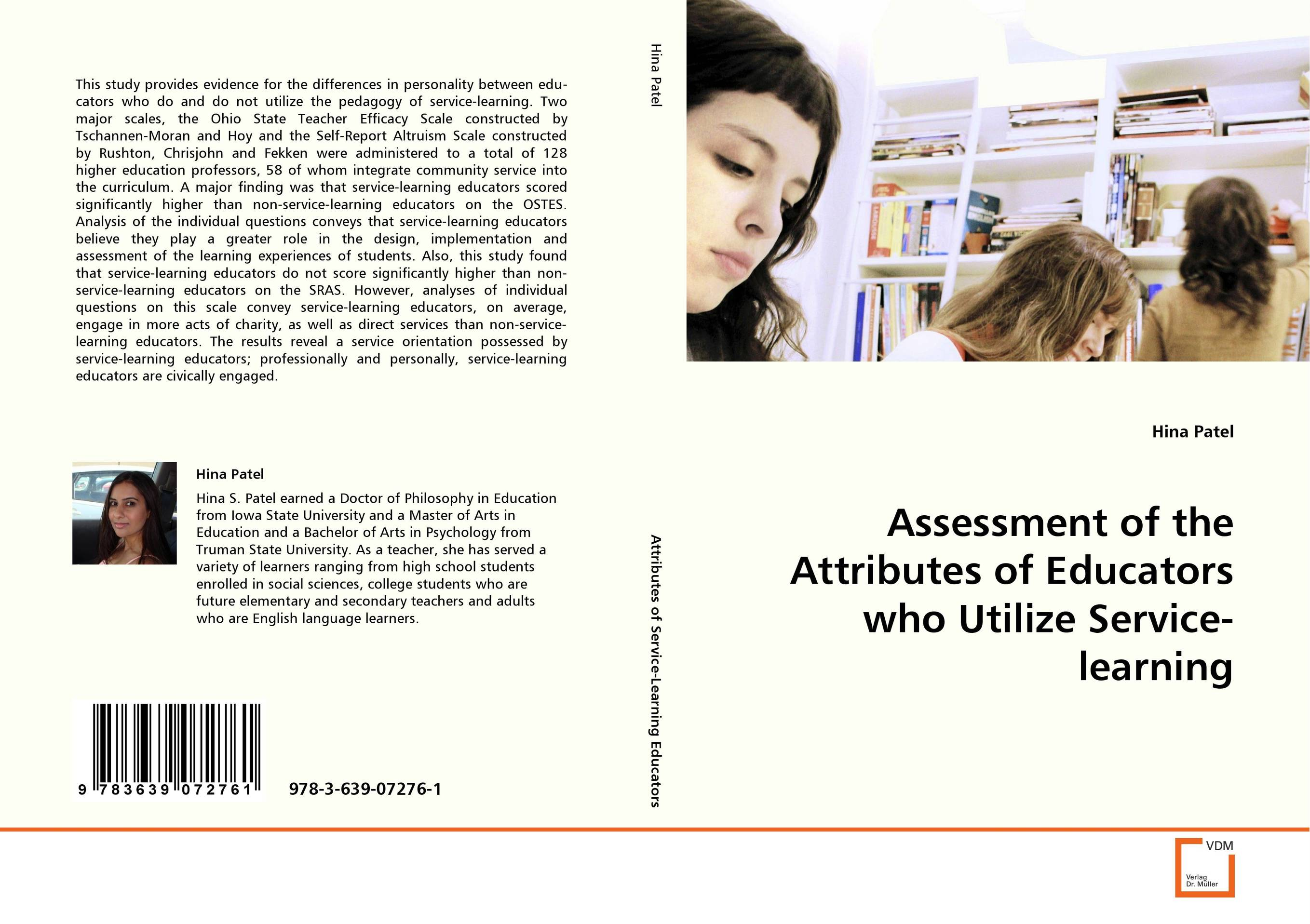 Assessment of the Attributes of Educators who UtilizeService-learning the quality of accreditation standards for distance learning