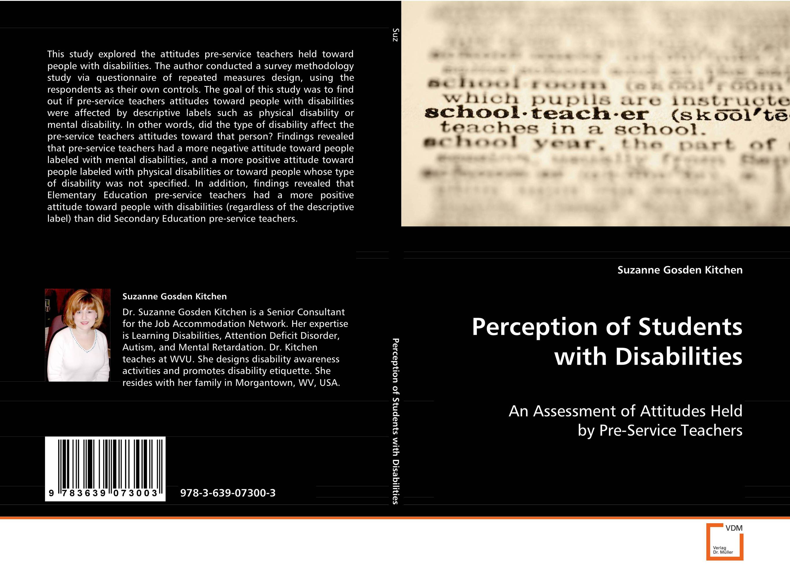 Perception of Students with Disabilities attitudes toward kenyan english
