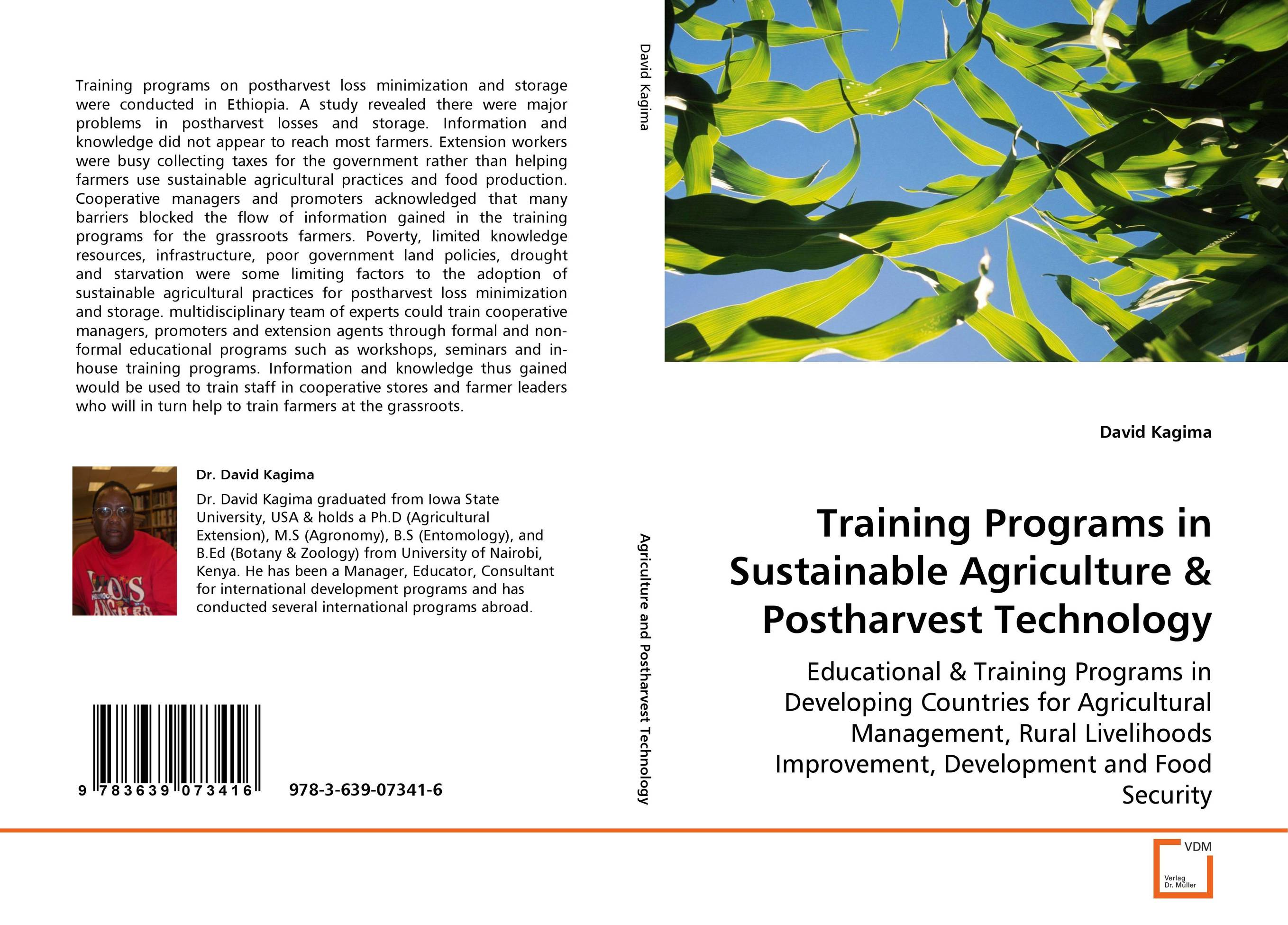 Training programs in sustainable agriculture