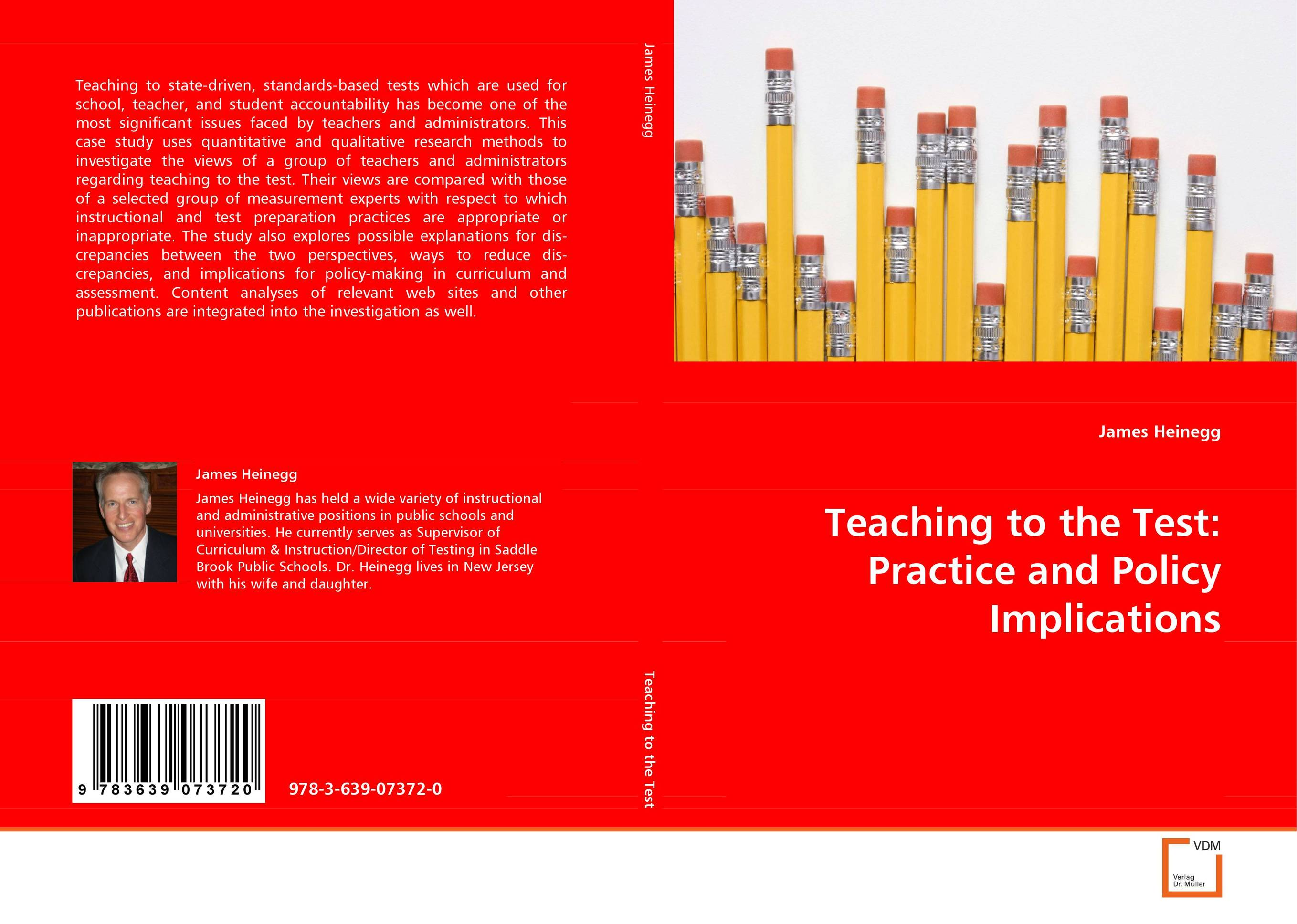 Teaching to the Test: Practice and Policy Implications driven to distraction