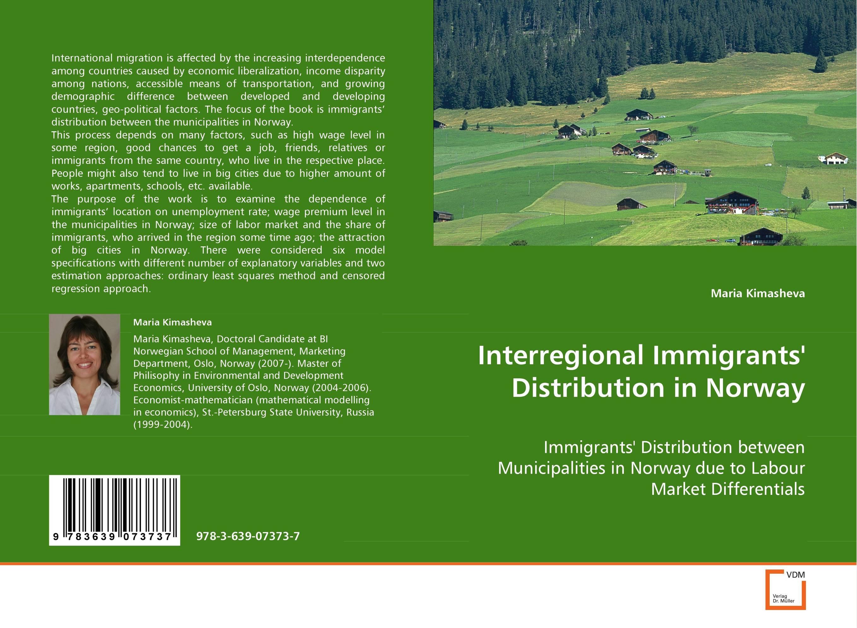 Interregional Immigrants'' Distribution in Norway macrosomia newborn in northern norway