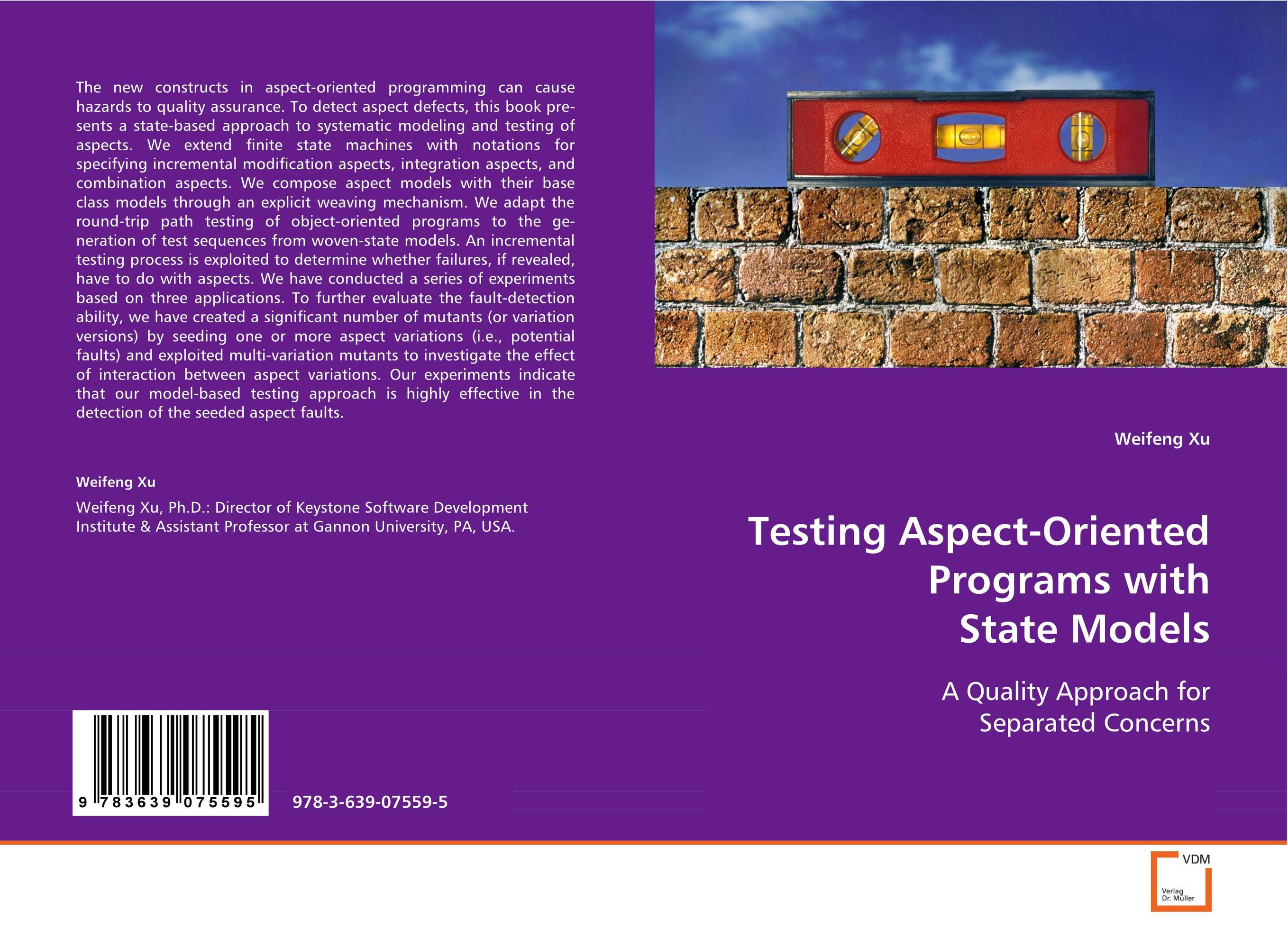 TESTING ASPECT-ORIENTED PROGRAMS WITH STATE MODELS new mutants