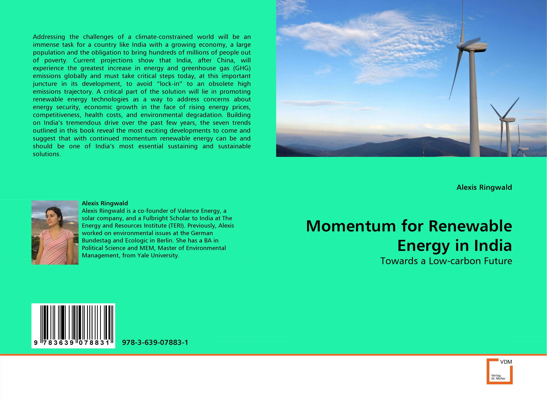Momentum for Renewable Energy in India momentum часы momentum 1m sp17ps0 коллекция heatwave