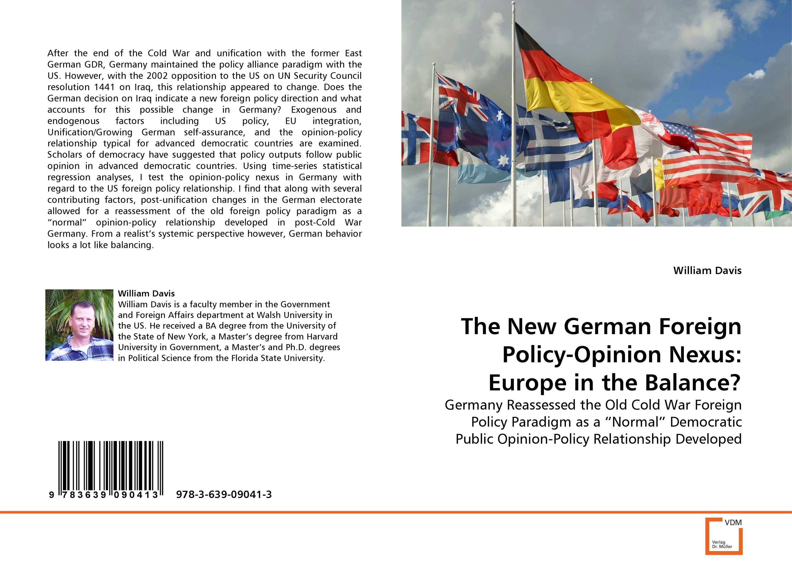The New German Foreign Policy-Opinion Nexus: Europe in the Balance? ulrich beck german europe
