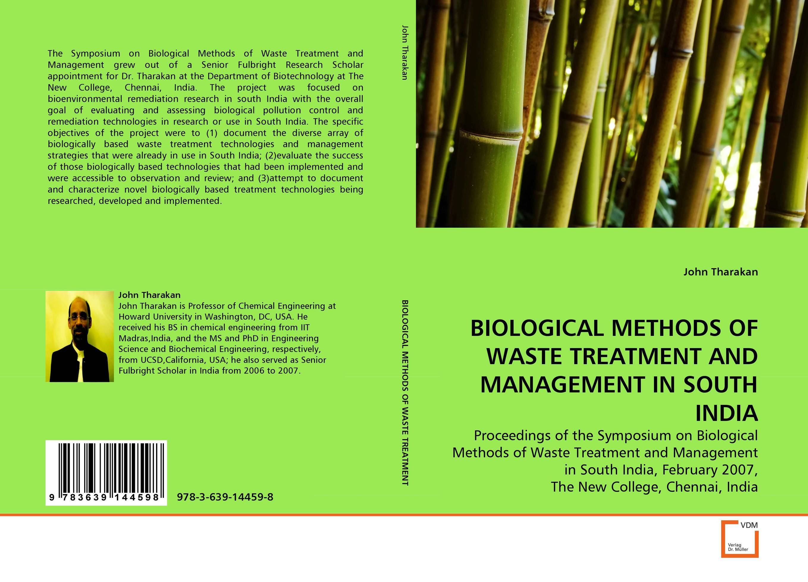 BIOLOGICAL METHODS OF WASTE TREATMENT AND MANAGEMENT IN SOUTH INDIA nicholas p cheremisinoff groundwater remediation and treatment technologies