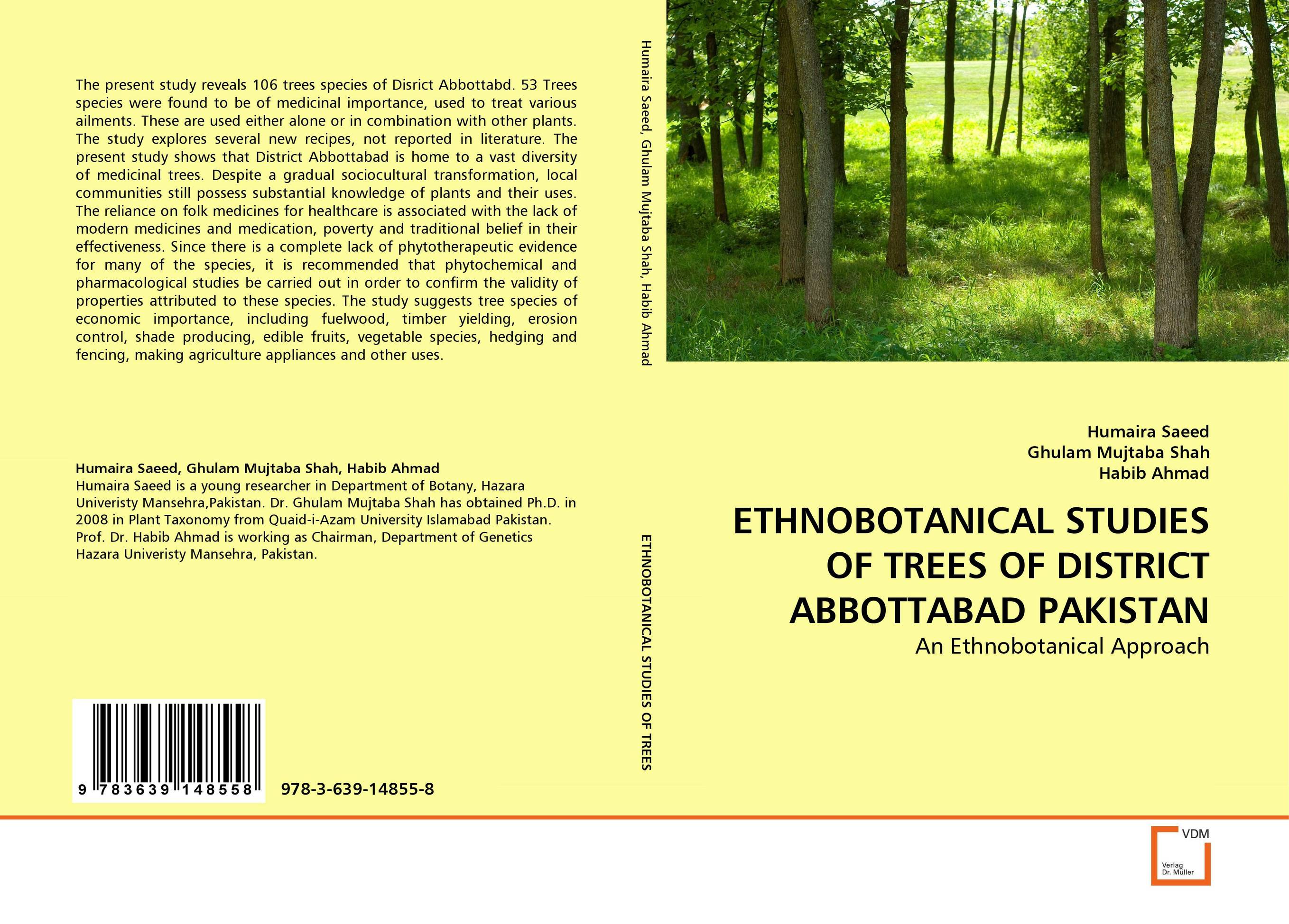 ETHNOBOTANICAL STUDIES OF TREES OF DISTRICT ABBOTTABAD PAKISTAN the trees trees the garden of jane delawney lp