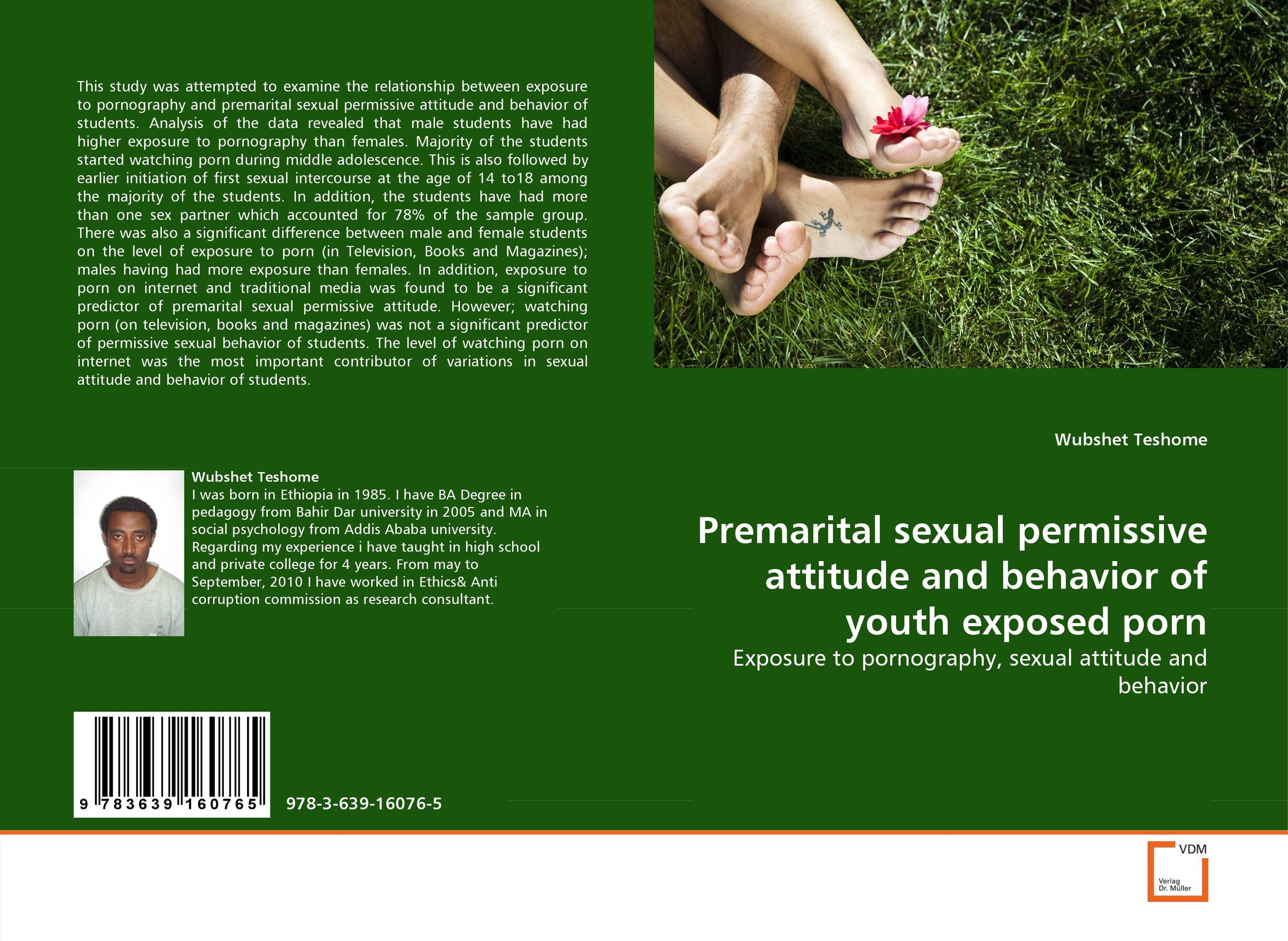 Premarital sexual permissive attitude and behavior of youth exposed porn