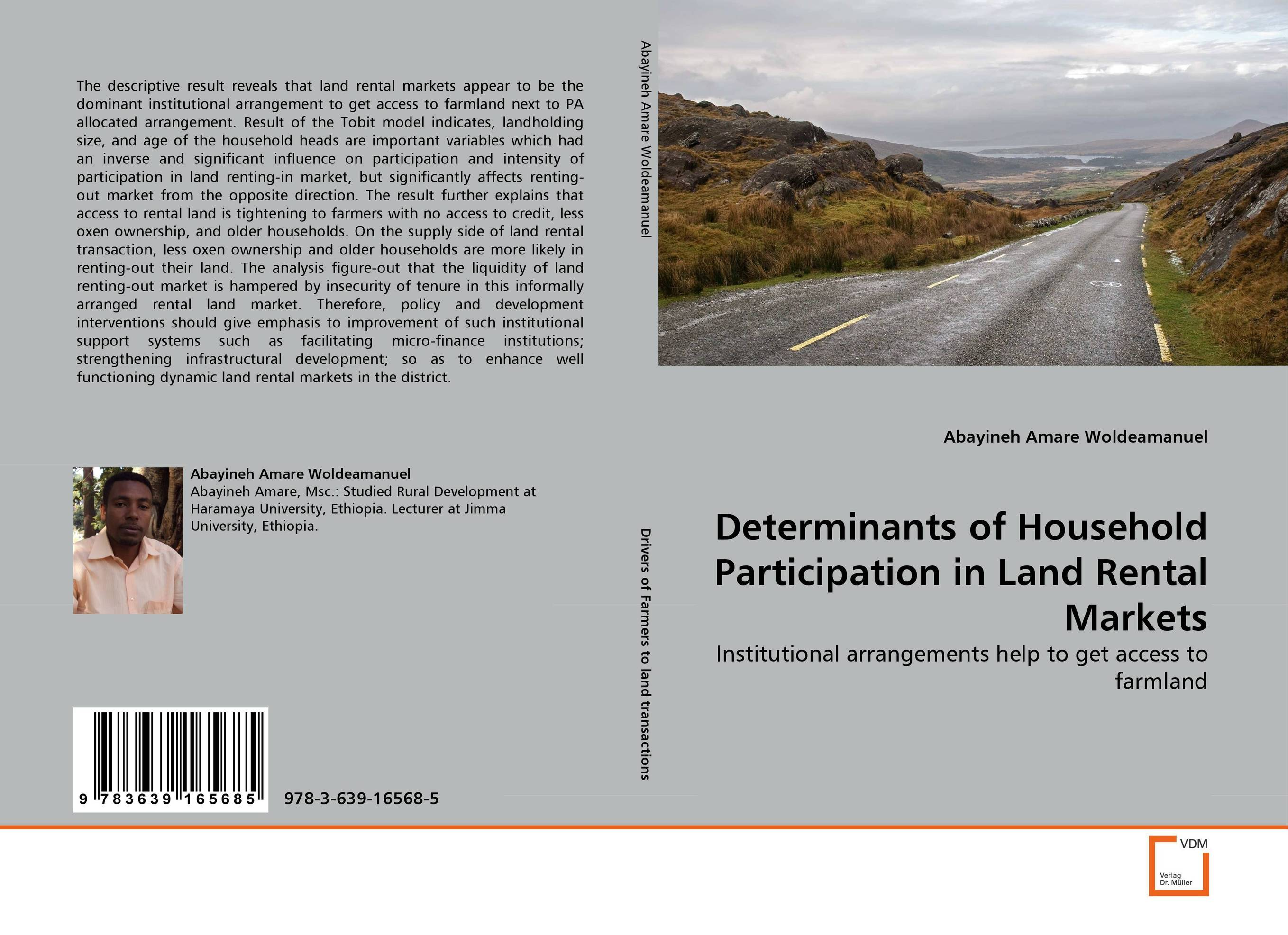 Determinants of Household Participation in Land Rental Markets land of savagery land of promise – the european image of the american